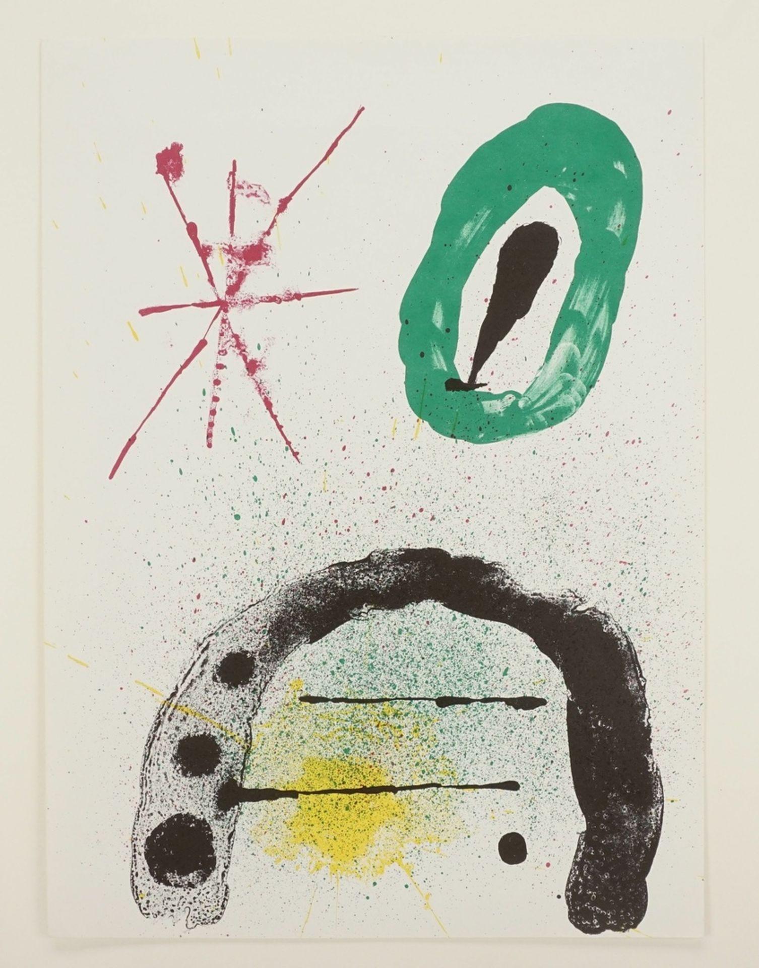 """Joan Miró, """"La fille du Jardinier II"""" (Die Tochter des Gärtners II) - Bild 3 aus 4"""