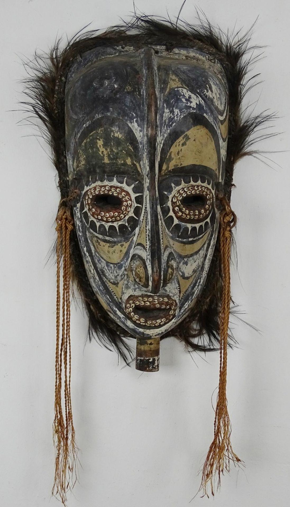 Große Maske eines Ahnengeistes, Papua-Neuguinea