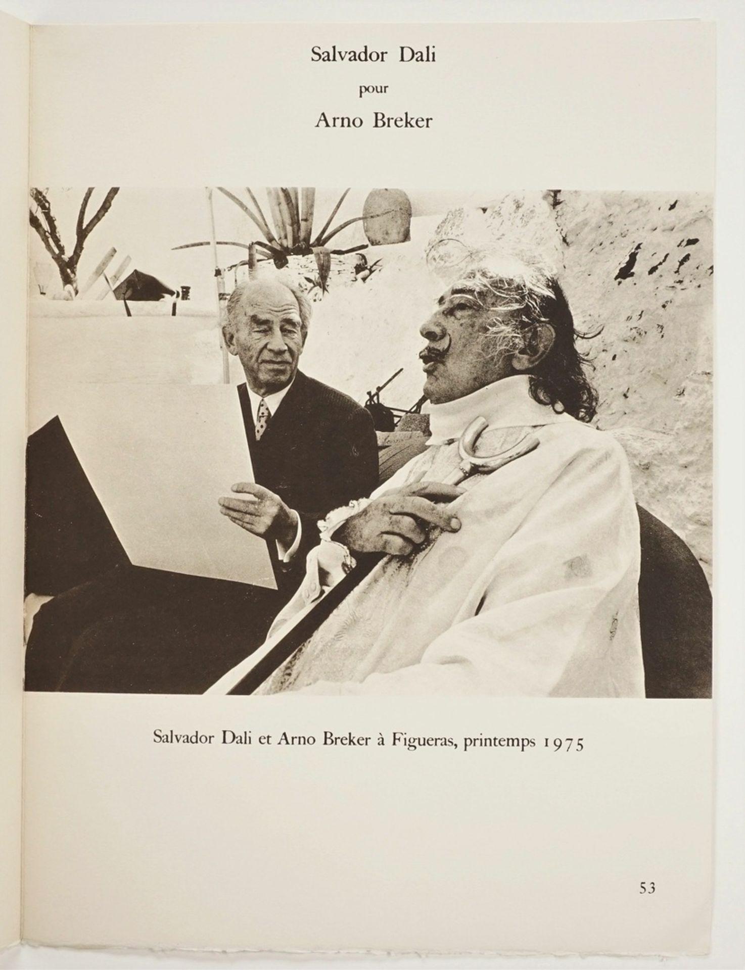 "Salvador Dalí, ""Salvador Dalí pour Arno Breker"" - Bild 5 aus 5"