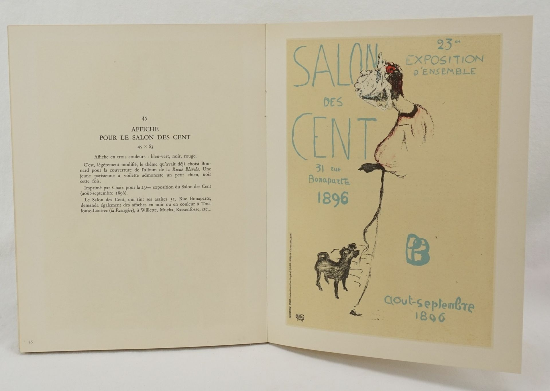"Claude Roger-Marx, ""Bonnard Lithographe"" - Bild 3 aus 4"