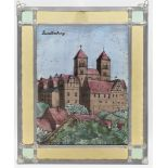 Fensterbild / Bleiverglasung, Quedlinburger Schloss
