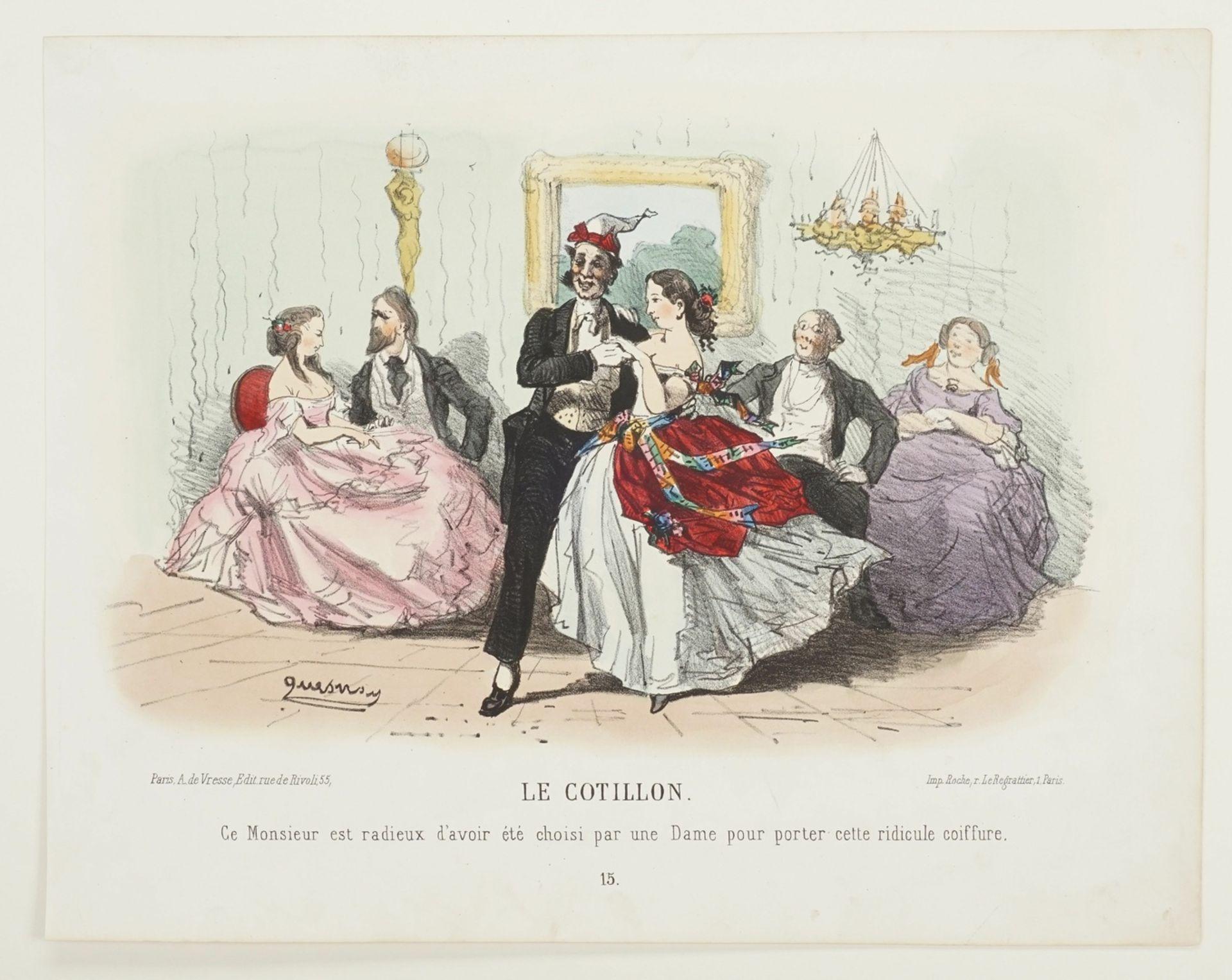 """Alfred Quesnay de Beaurepaire, """"Le Cotillon"""" - Bild 3 aus 3"""