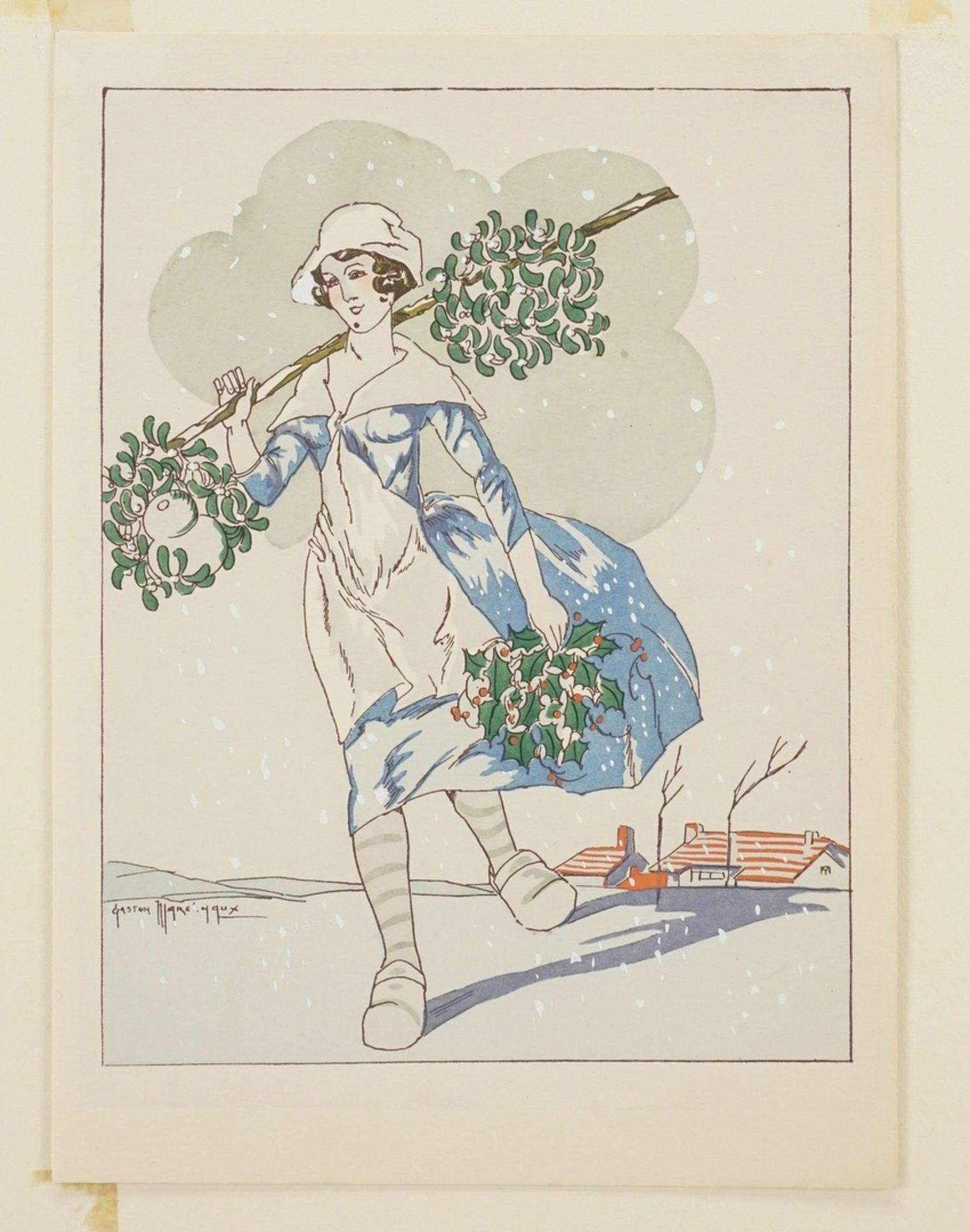 Gaston Maréchaux, Allegorie des Dezembers - Bild 3 aus 4