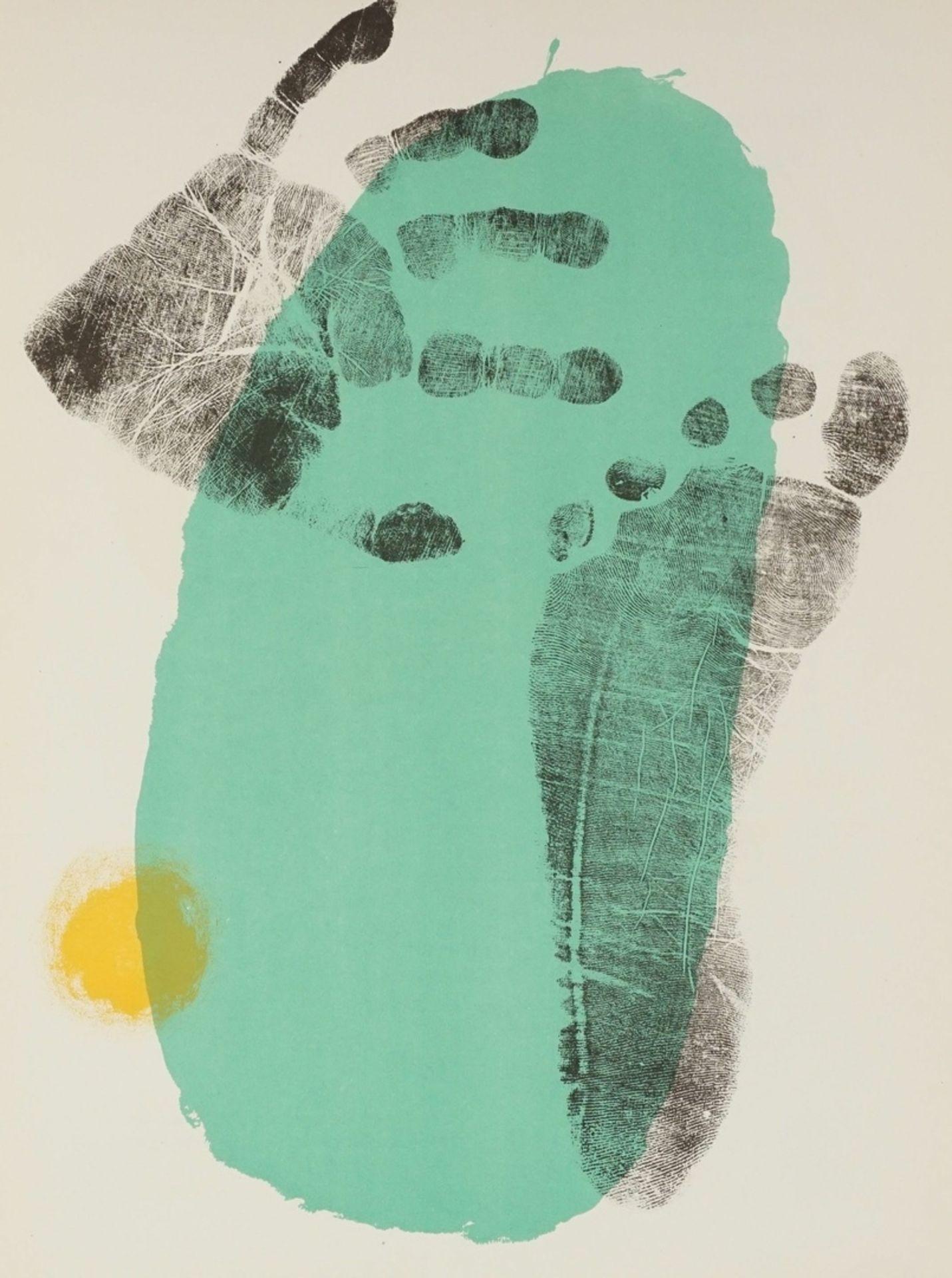 """Joan Miró, """"Pie y mano"""" (Hand und Fuß)"""