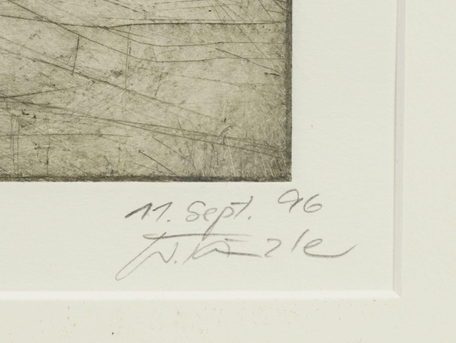 """Waltraud Tänzler, """"die Straße, jeglichem Zufall geöffnet wie ein Traum (Borges)"""" - Bild 3 aus 3"""
