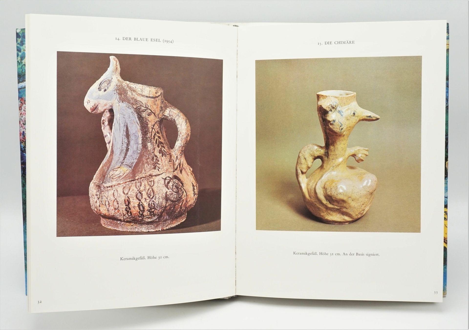 """Charles Sorlier, """"Die Keramiken und Skulpturen von Chagall"""", mit einer Originallithografie - Bild 3 aus 4"""
