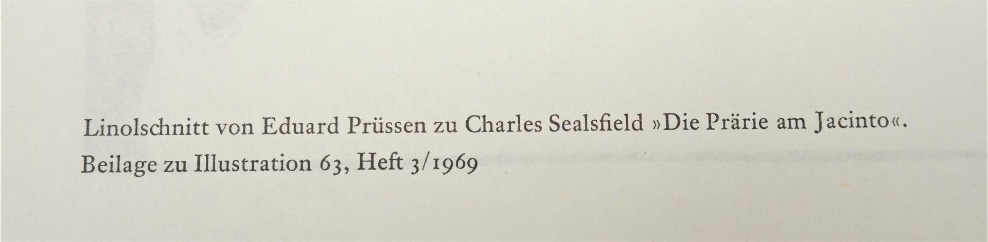 """Eduard Prüssen, Zu Charles Sealsfield """"Die Prärie am Jacinto"""" - Bild 5 aus 5"""