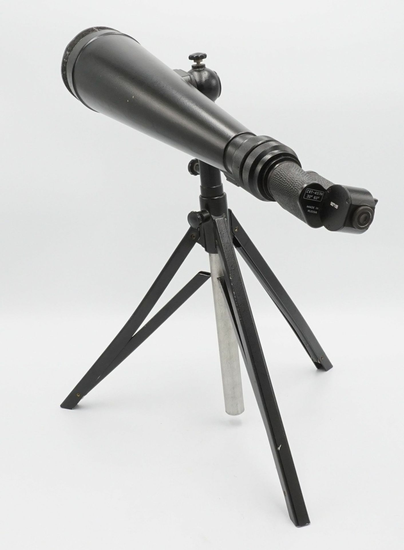 Russisches Spektiv ZRT-457M, 30x / 60x, mit Tasche, 2. Hälfte 20. Jh. - Bild 2 aus 5