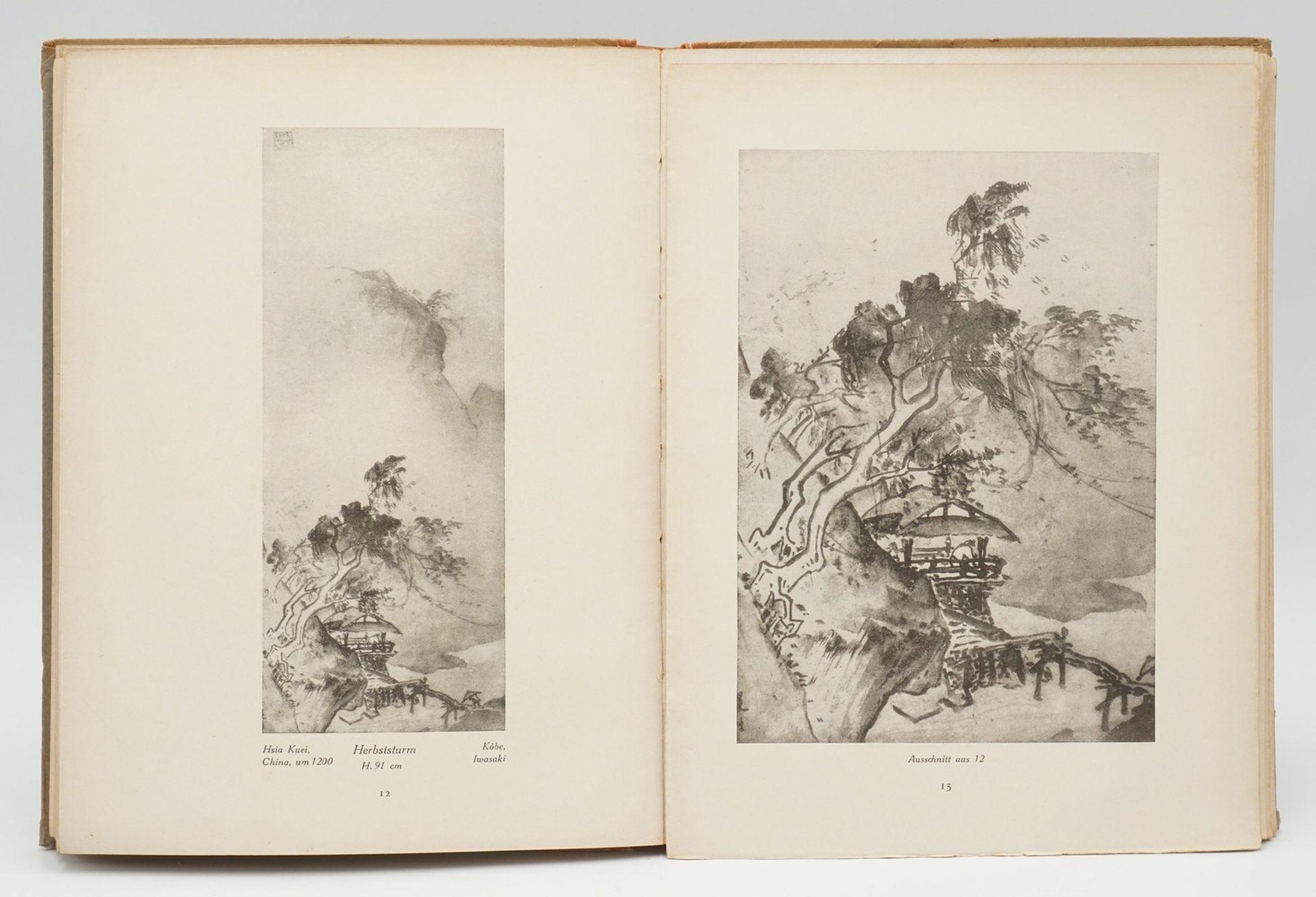 """Blockbuch, Bijutsu Sekai und """"Die ostasiatische Tuschmalerei"""" - Bild 6 aus 8"""