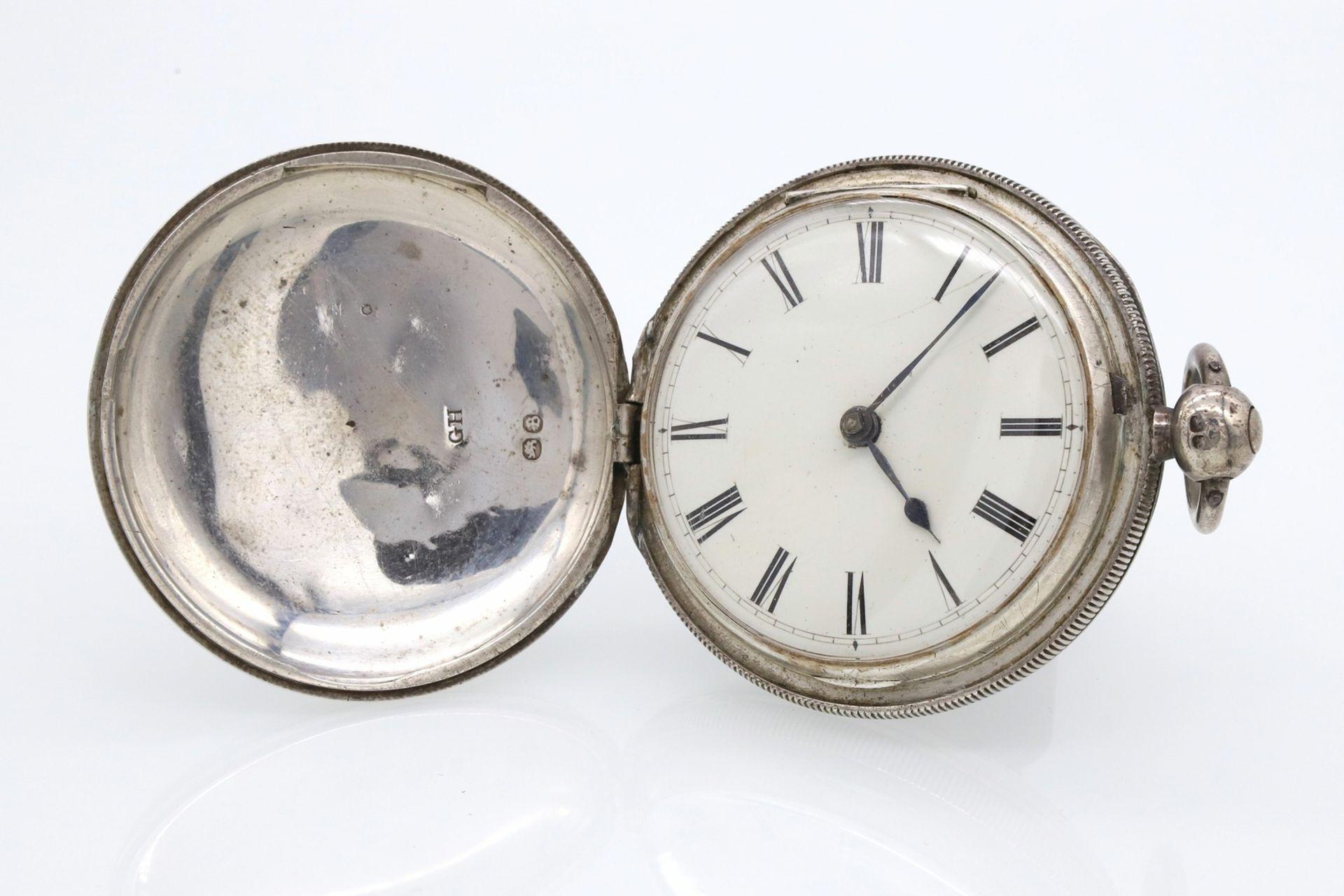 Bennet Wing London Spindeltaschenuhr mit Sprungdeckel, 1837 - Bild 6 aus 6