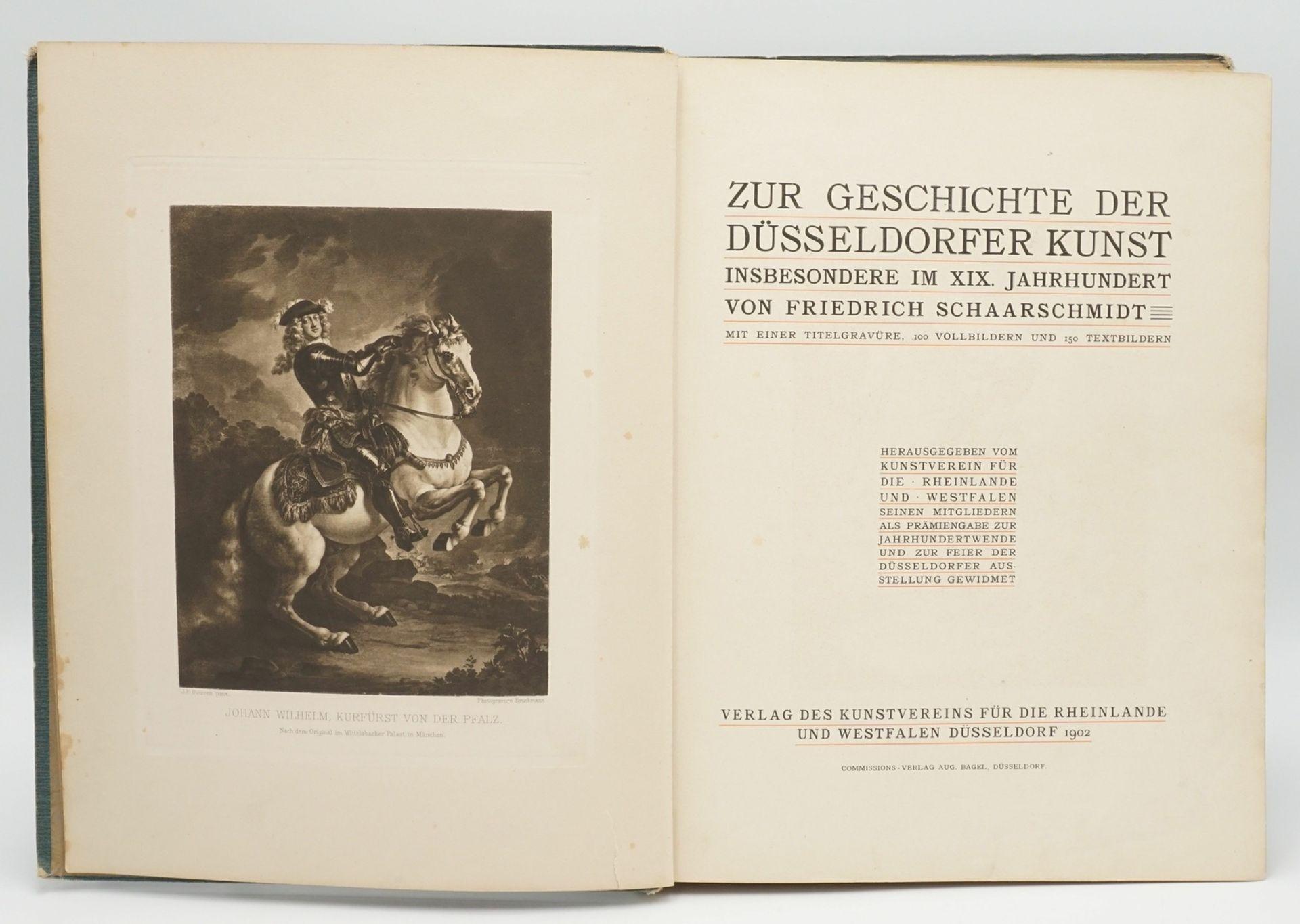 """Friedrich Schaarschmidt, """"Zur Geschichte der Düsseldorfer Kunst"""" - Bild 3 aus 4"""