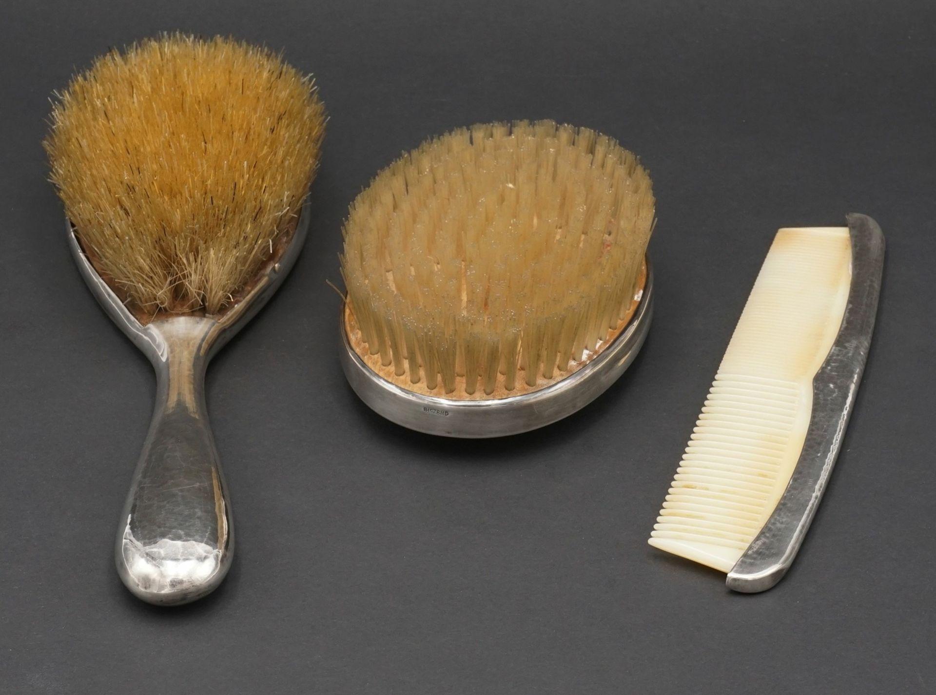Behrnd Hermann Toilettenset / Frisierset, um 1920 - Bild 2 aus 3