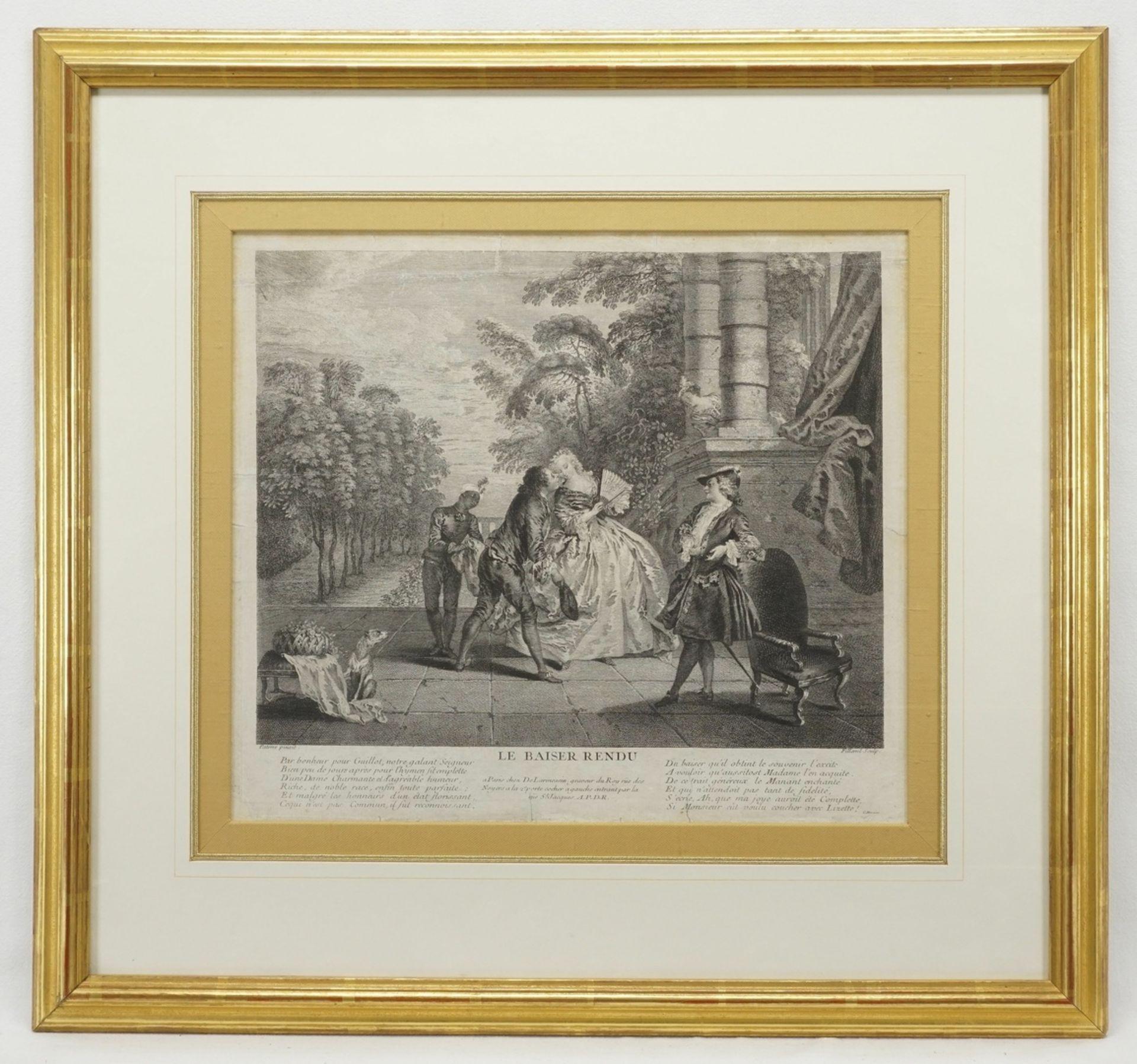 """Pierre Filloeul, """"Le Baiser Rendu"""" (Der erwiderte Kuss) - Bild 2 aus 2"""