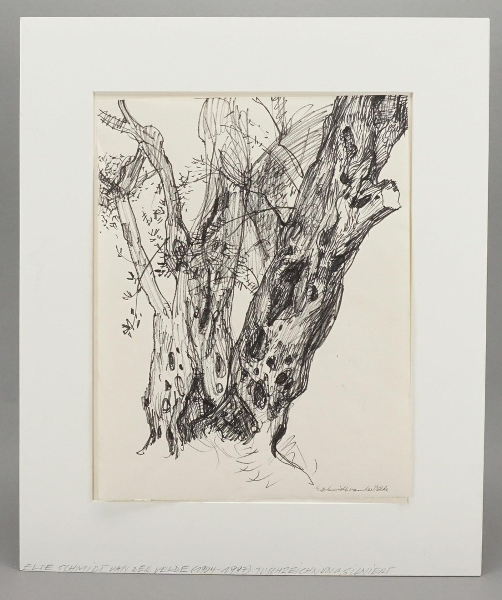 """Else Schmidt van der Velde, """"Alter Baum"""" - Bild 2 aus 4"""