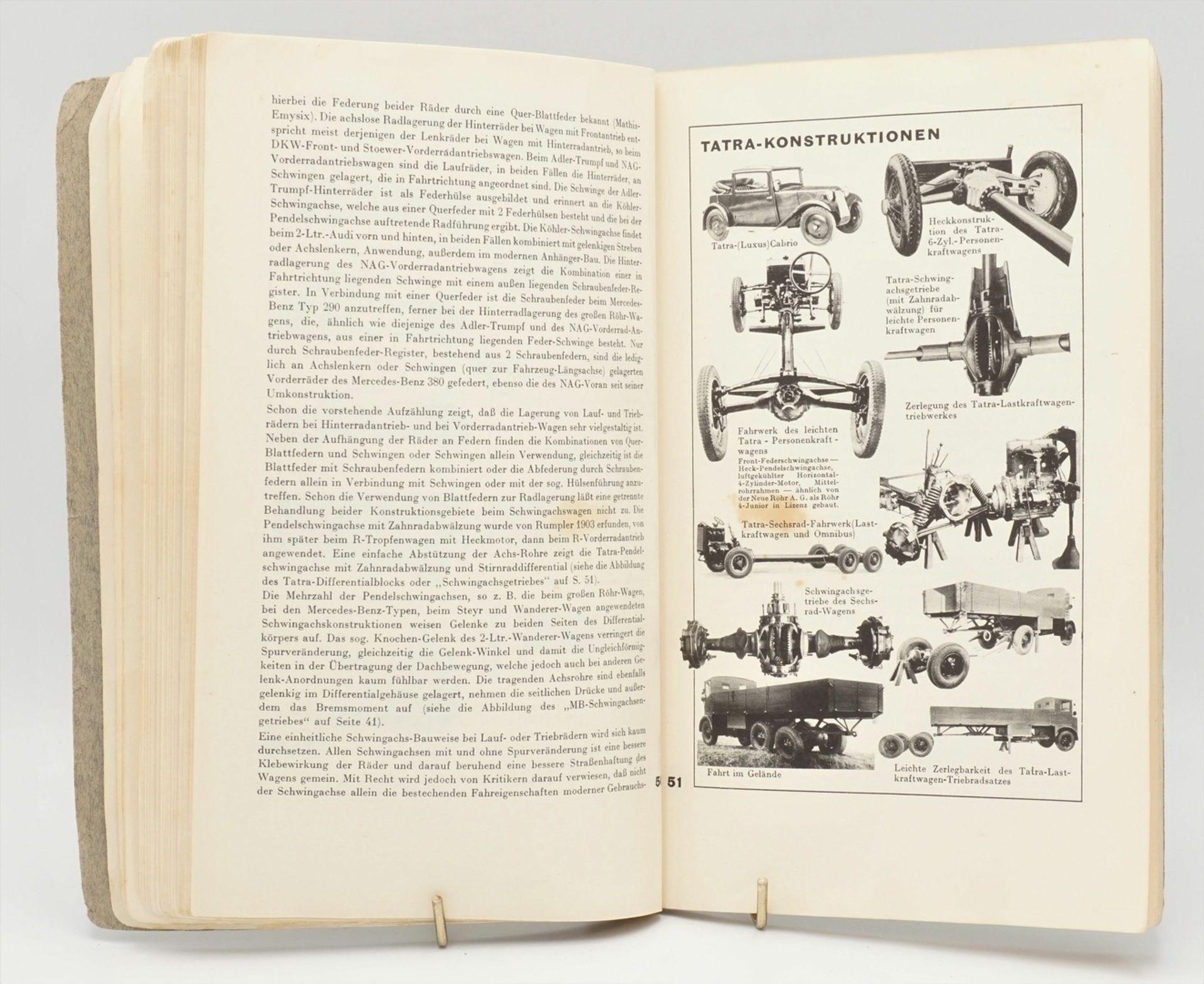 """Allgemeiner Deutscher Automobil-Club e.V. München-Berlin, """"Technisches ADAC-Jahrbuch 1933-34"""" - Bild 3 aus 4"""