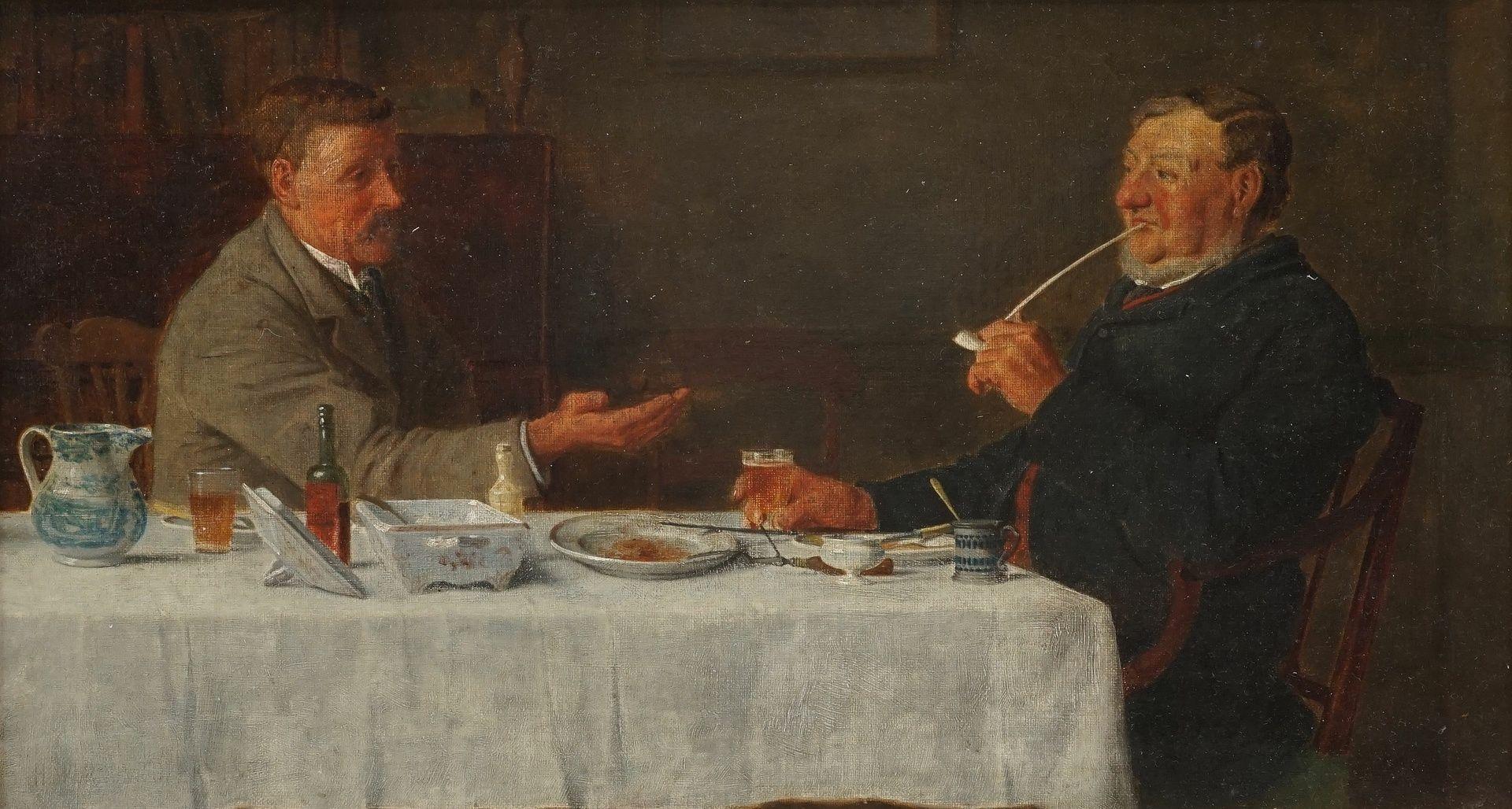 Henry Edward Spernon Tozer, Herrenrunde nach dem Abendessen