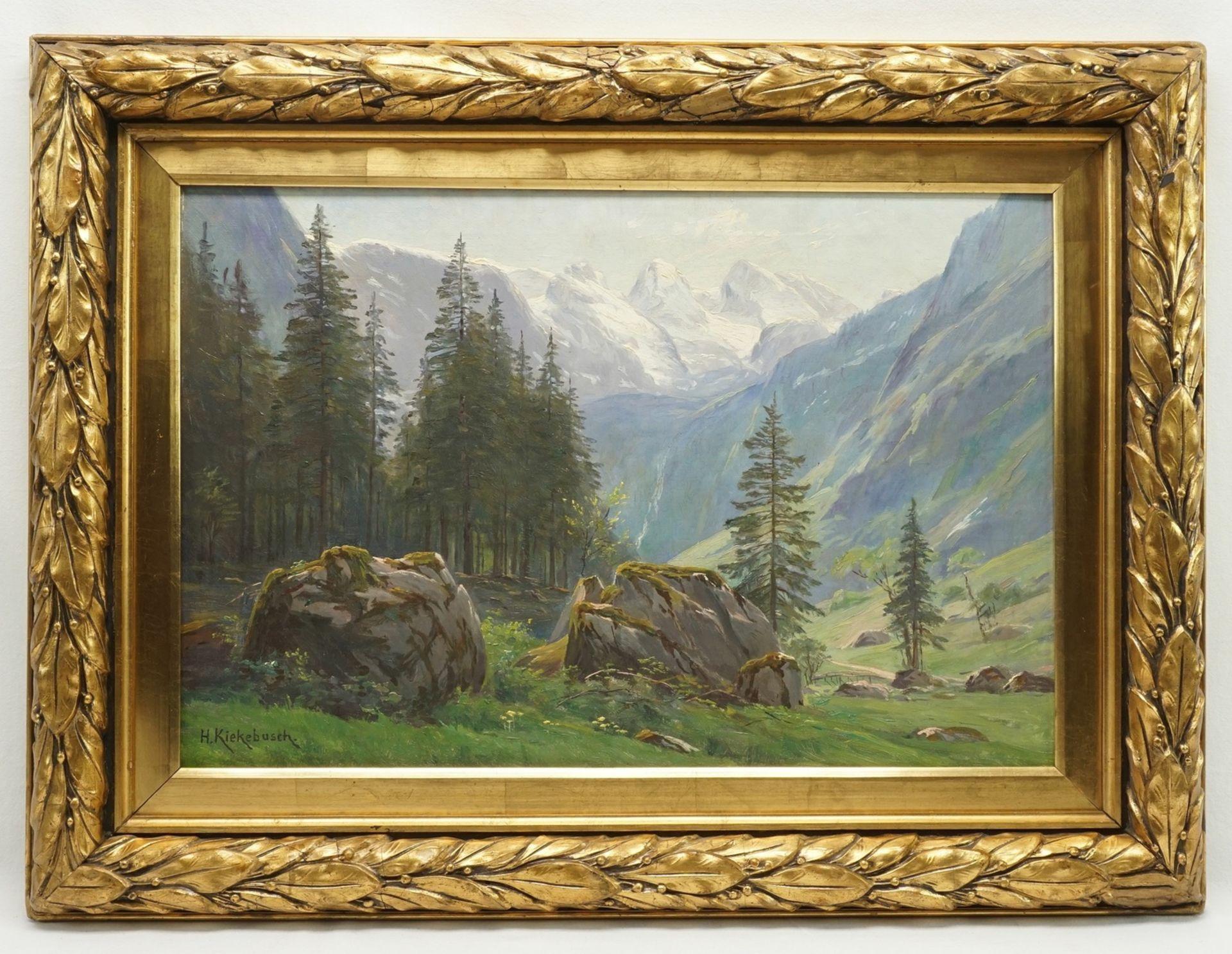 """Hermann Kiekebusch, """"Weg zum Obersee"""" - Bild 2 aus 4"""