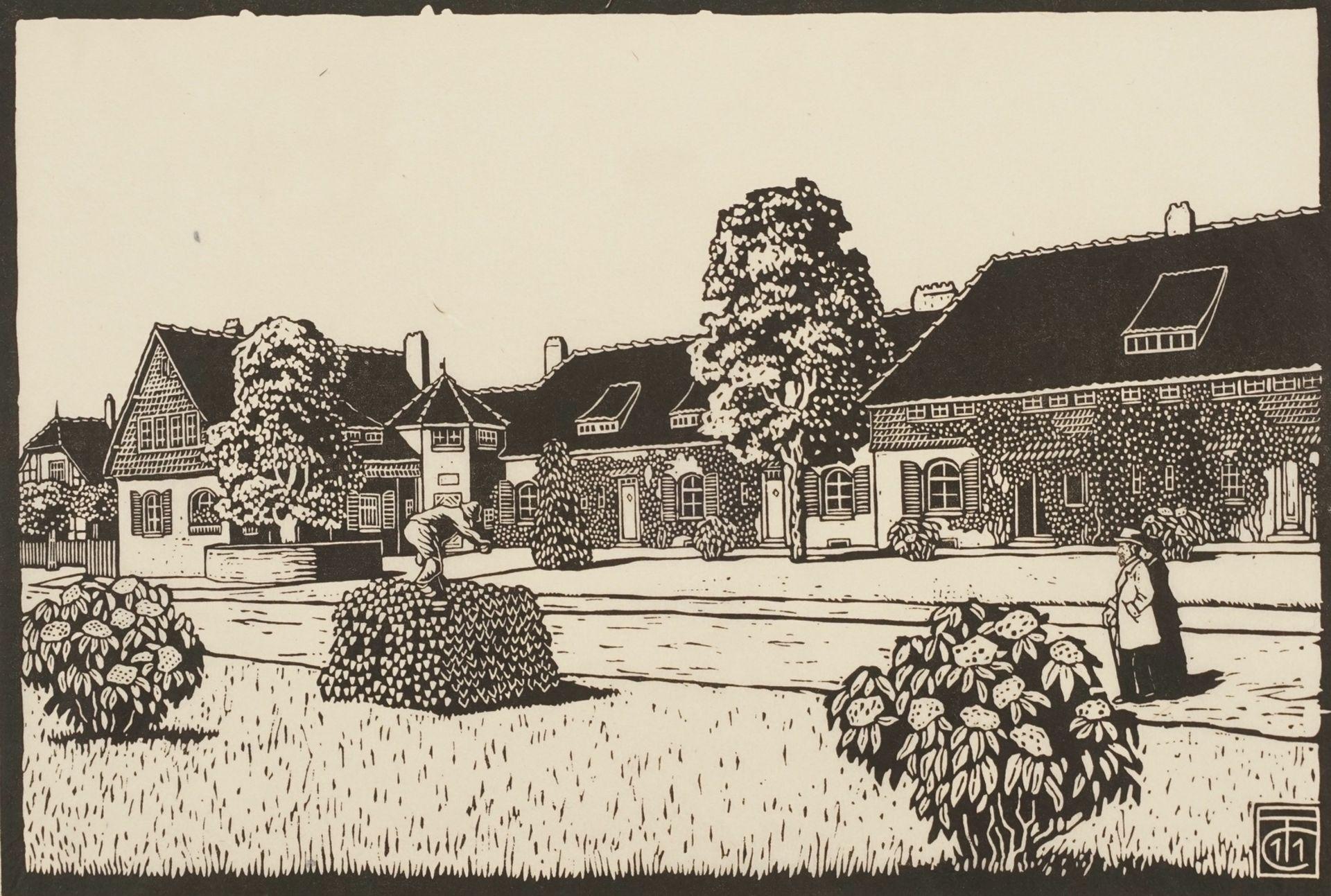 """Carl Theodor Thiemann, """"Kolonie Altenhof (Essen)"""""""