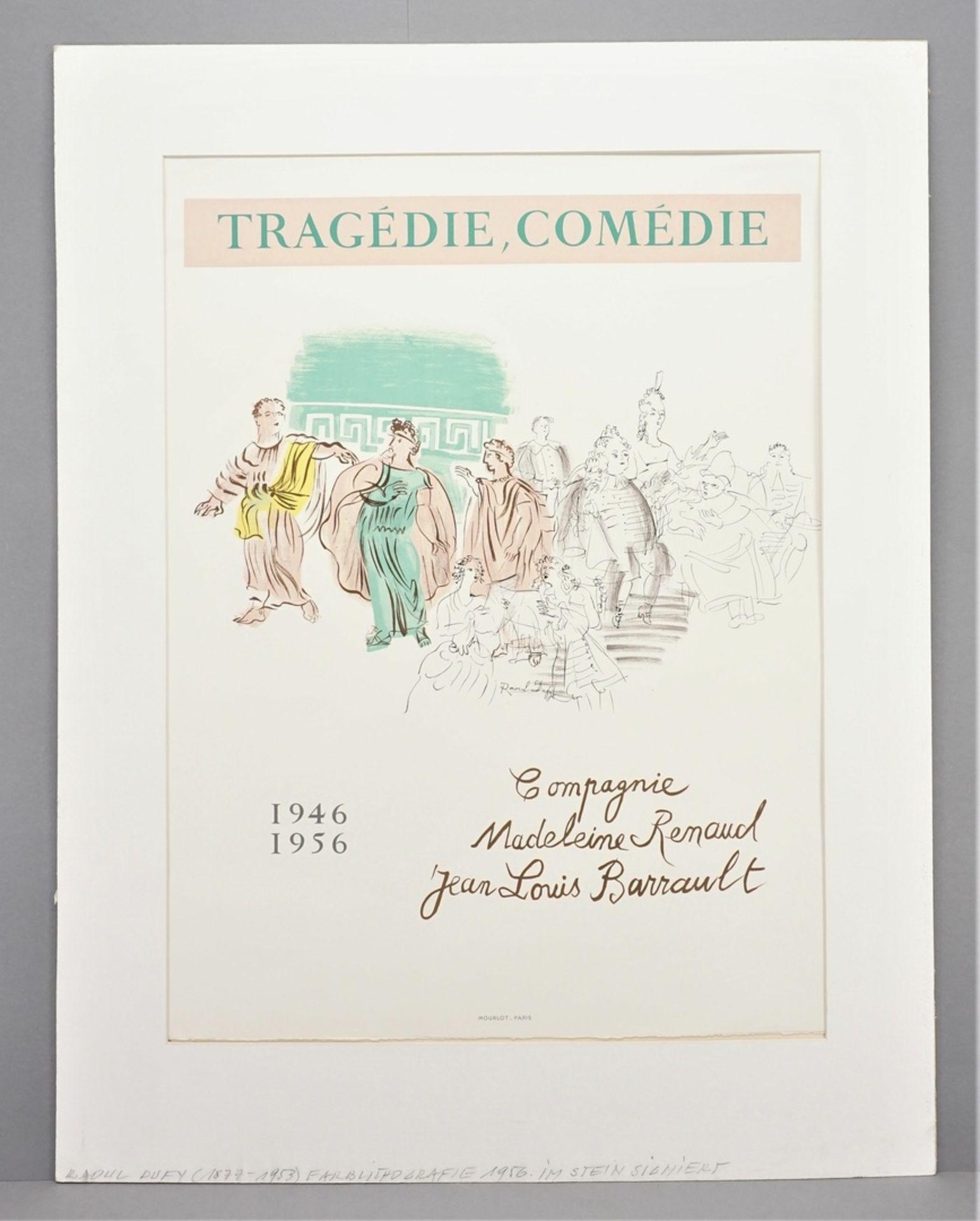 """Raoul Dufy, """"Tragédie, Comédie"""" (Tragödie, Komödie) - Bild 2 aus 3"""