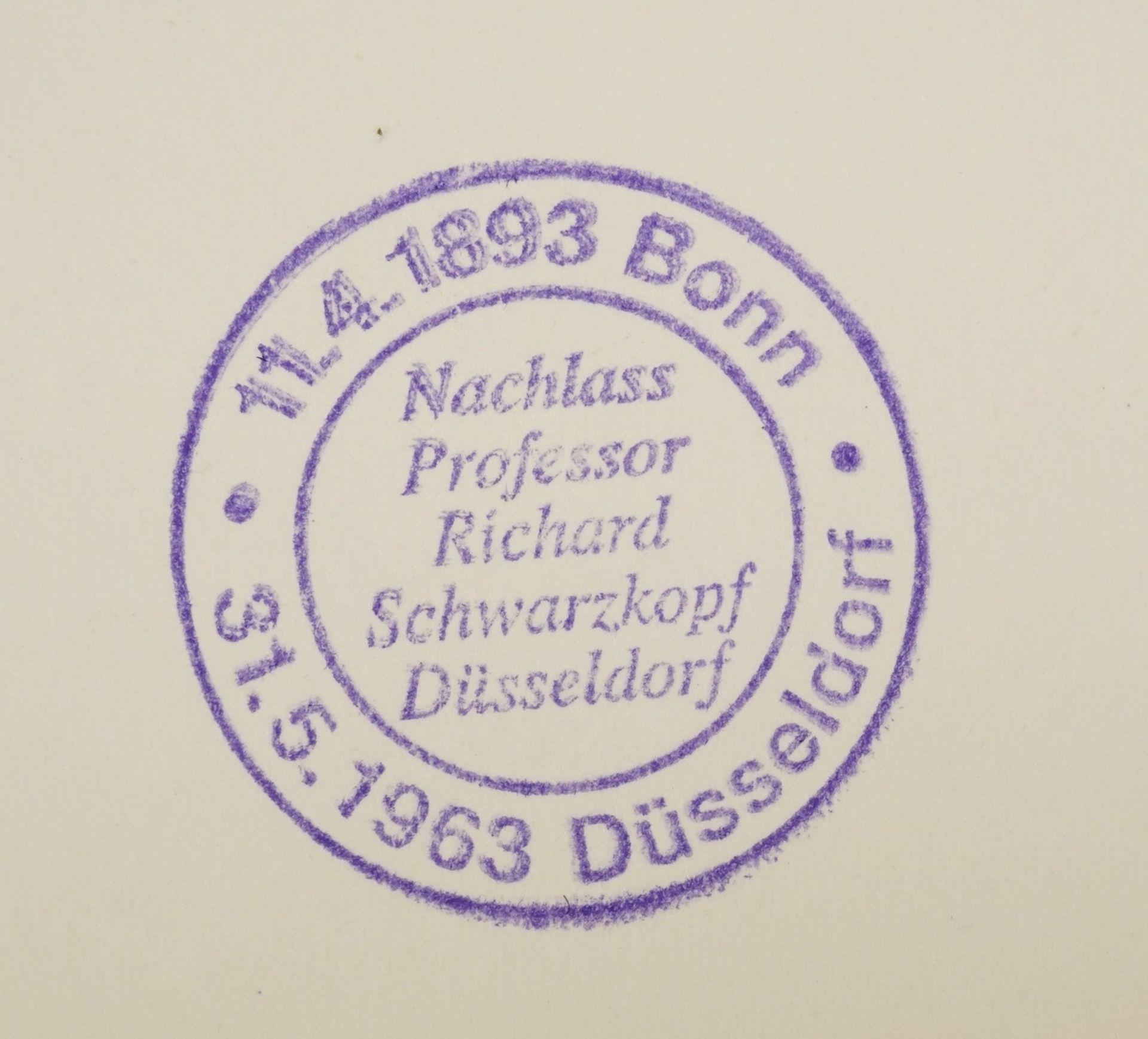 Richard Schwarzkopf, Männliche Figur mit Korb - Bild 5 aus 5