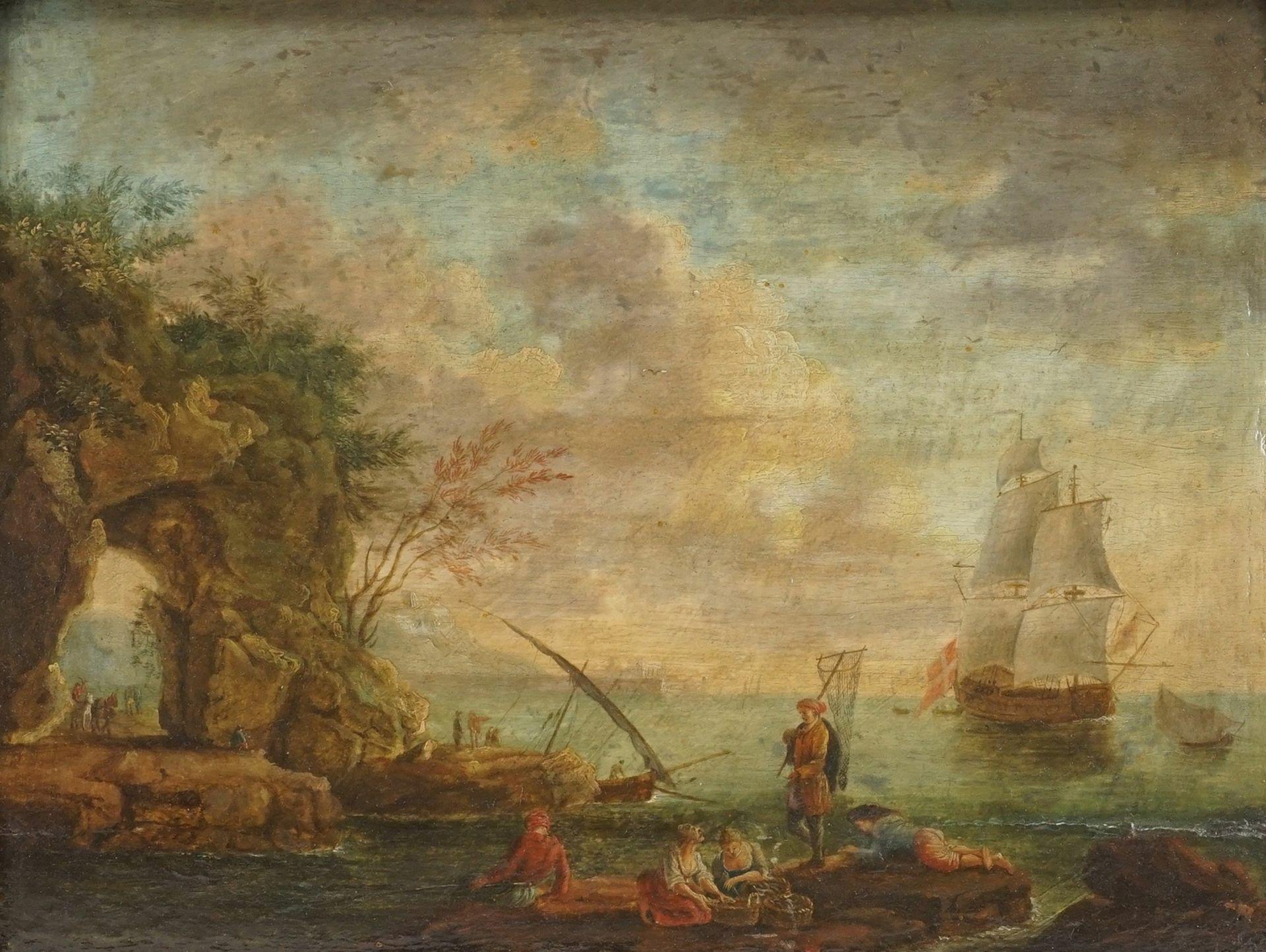 Fischergruppe am Felsentor - Bild 2 aus 4