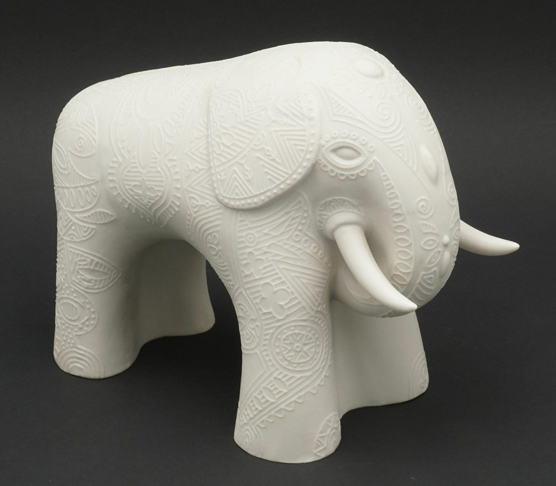 Cuno Fischer, Hutschenreuther Indischer Elefant