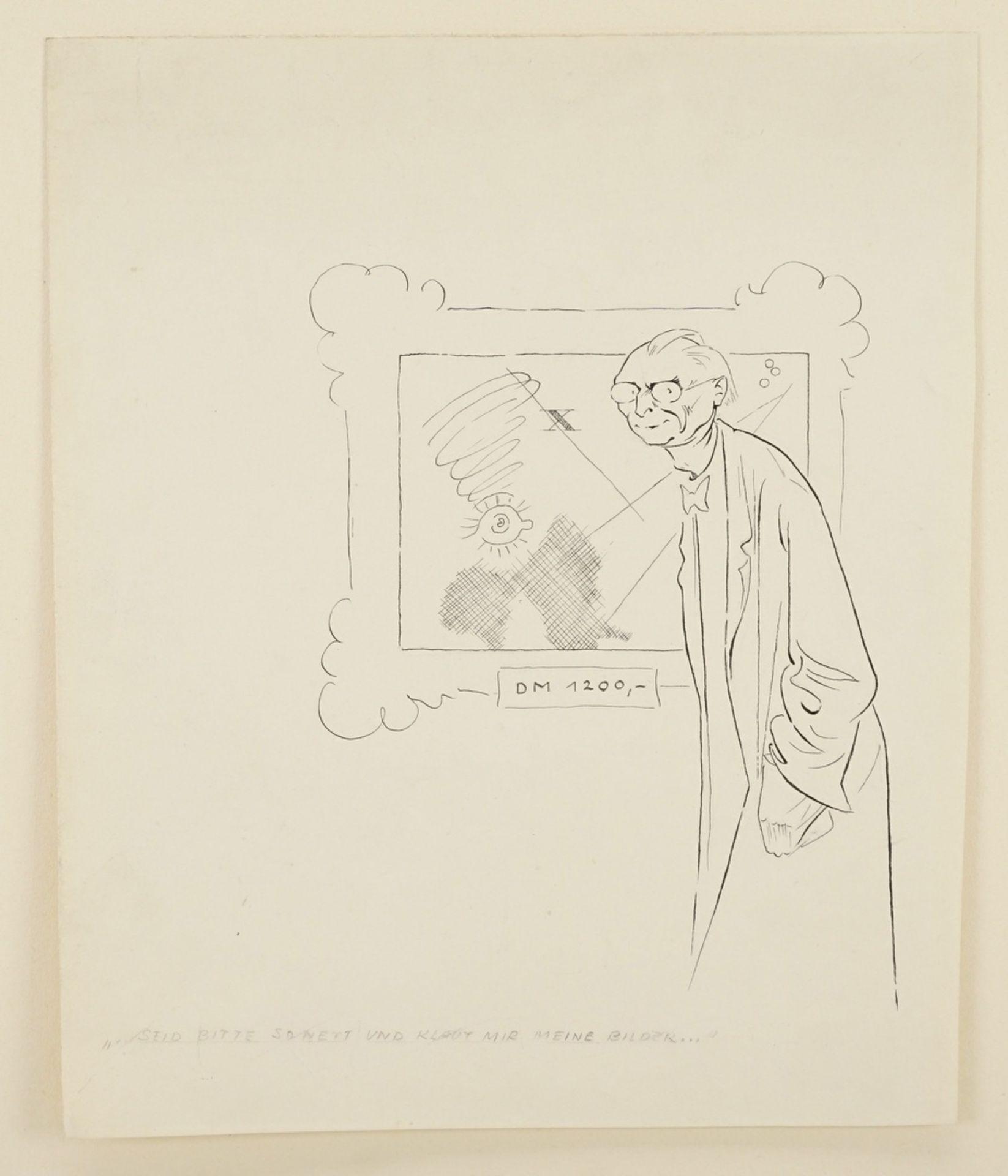 """Hans Pfannmüller, """"Seid bitte so nett und klaut mir meine Bilder..."""" - Bild 3 aus 3"""