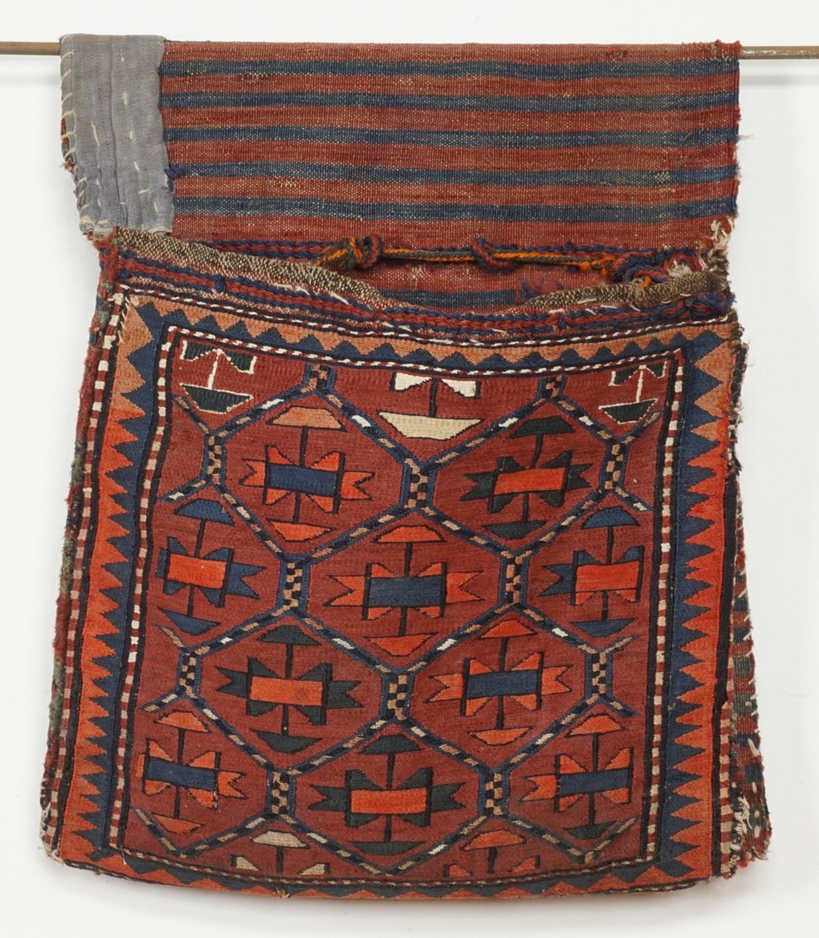 Tekke Satteltasche / Torba Turkmenistan - Bild 2 aus 4