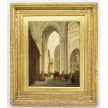 David Roberts, Unter der Vierungskuppel des Doms von Siena