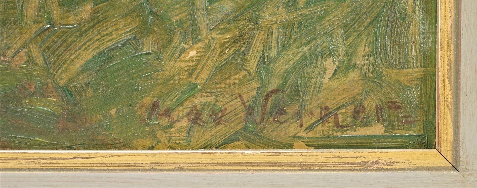 """Max Werner, """"Holsteinisches Bauernhaus (Einfelder See)"""" - Bild 4 aus 4"""
