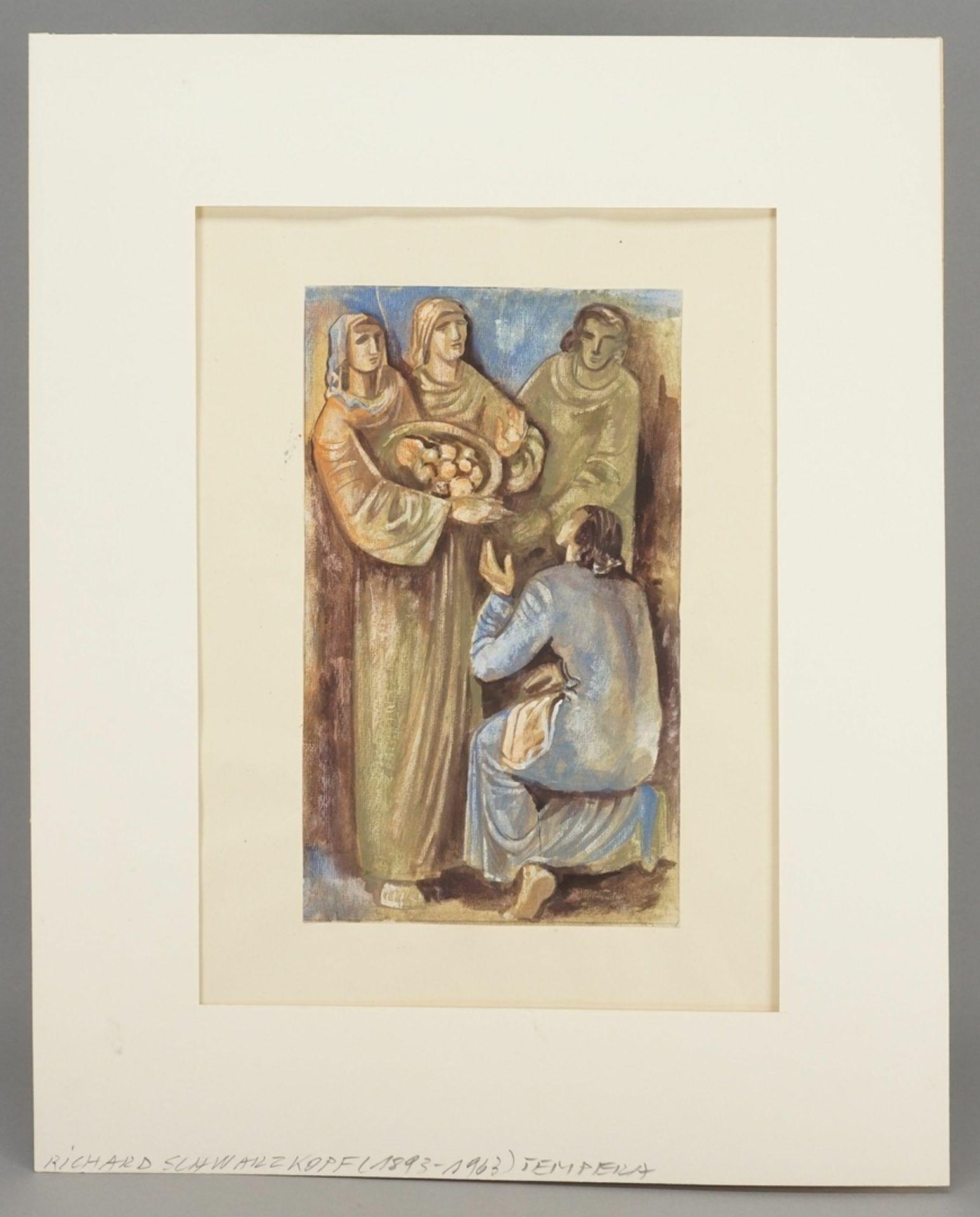 Richard Schwarzkopf, Speisung der Armen ( ) - Bild 2 aus 4