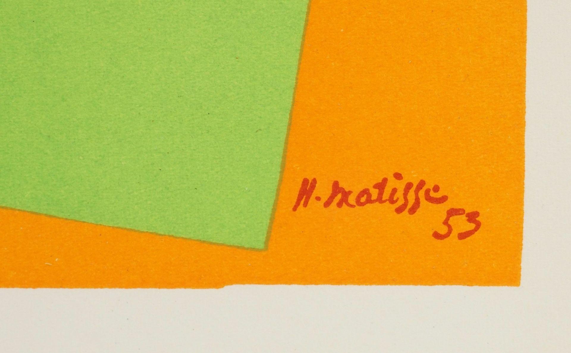 """Henri Matisse, """"L'escargot"""" (Die Schnecke) - Bild 5 aus 5"""