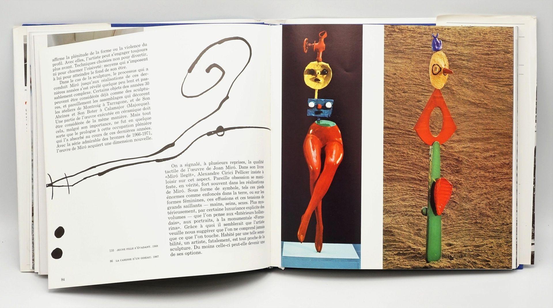 "Joan Miró Ausstellungskatalog und ""Miró Sculptures"" - Bild 4 aus 4"