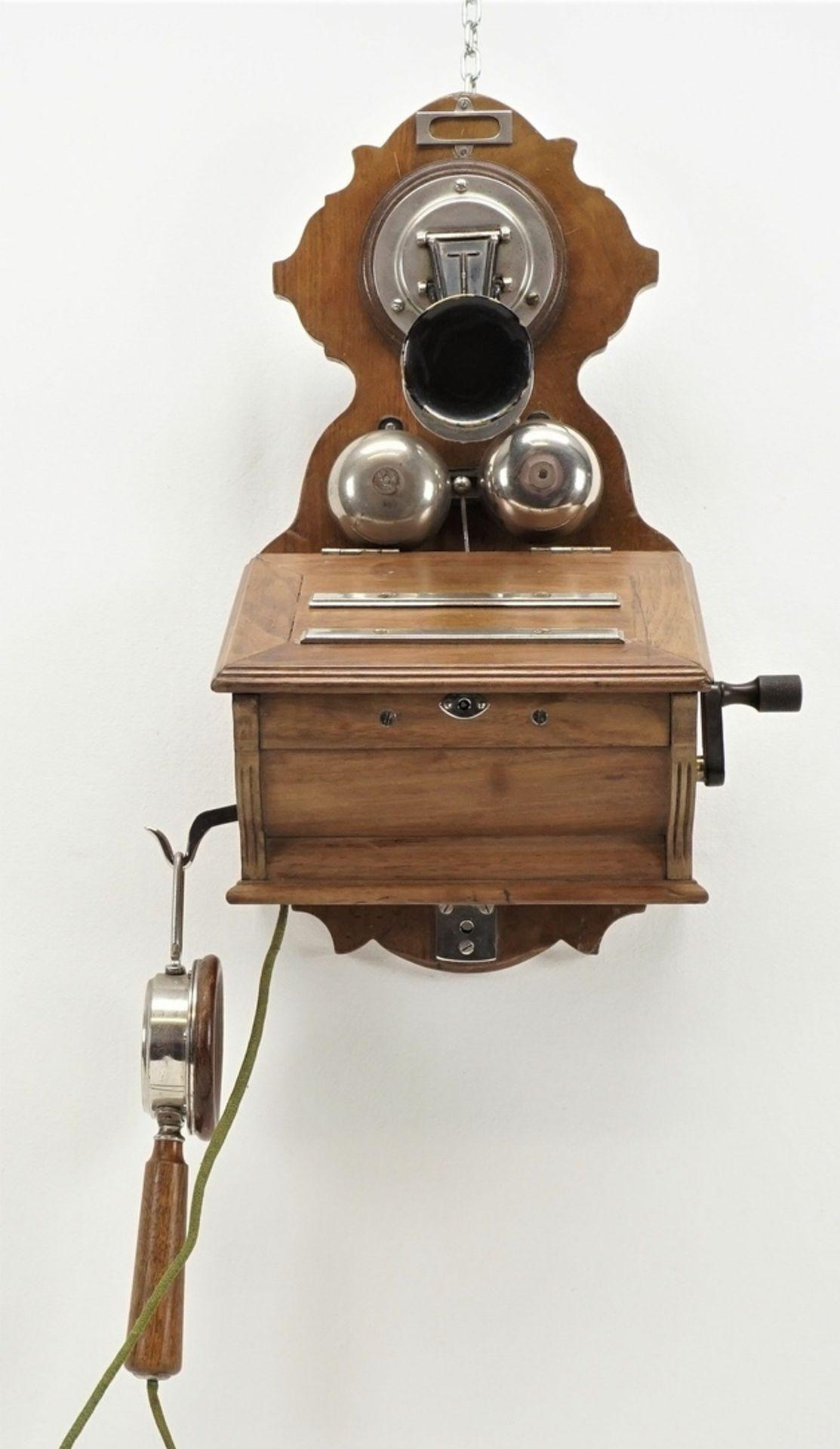 F. Schuchhardt Wandtelefon OB 04, um 1900 - Bild 4 aus 5