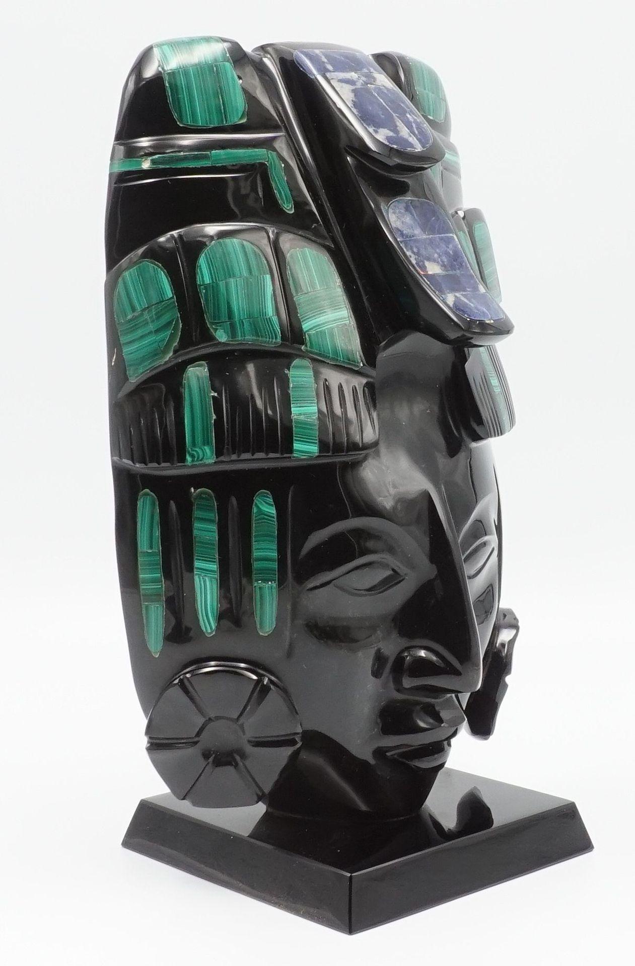 Azteken Maske - Bild 2 aus 4