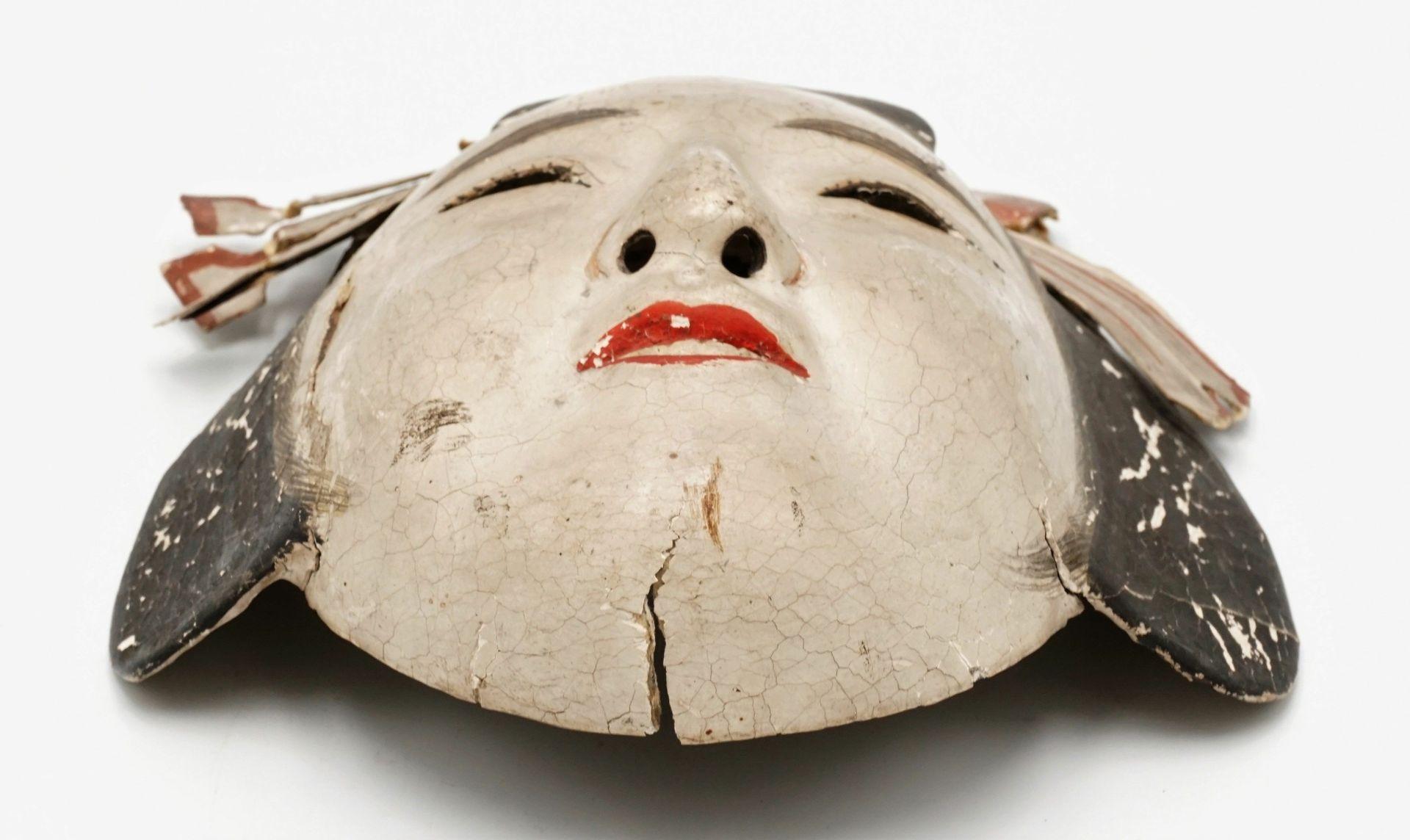 Zwei japanische Masken, Japan, um 1900 - Bild 7 aus 7