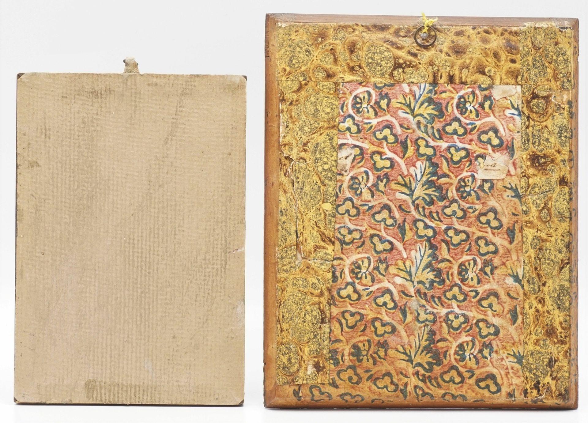 Zwei Andachtsbilder, 19. Jh. - Bild 2 aus 4