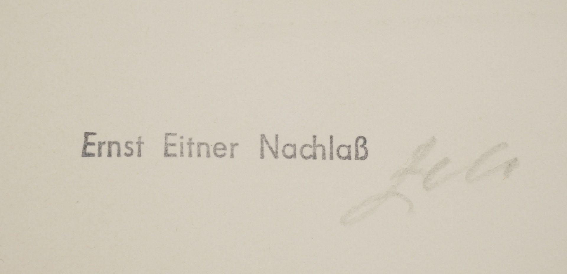 Ernst Eitner, Norddeutsches Dorf im Winter - Bild 4 aus 5