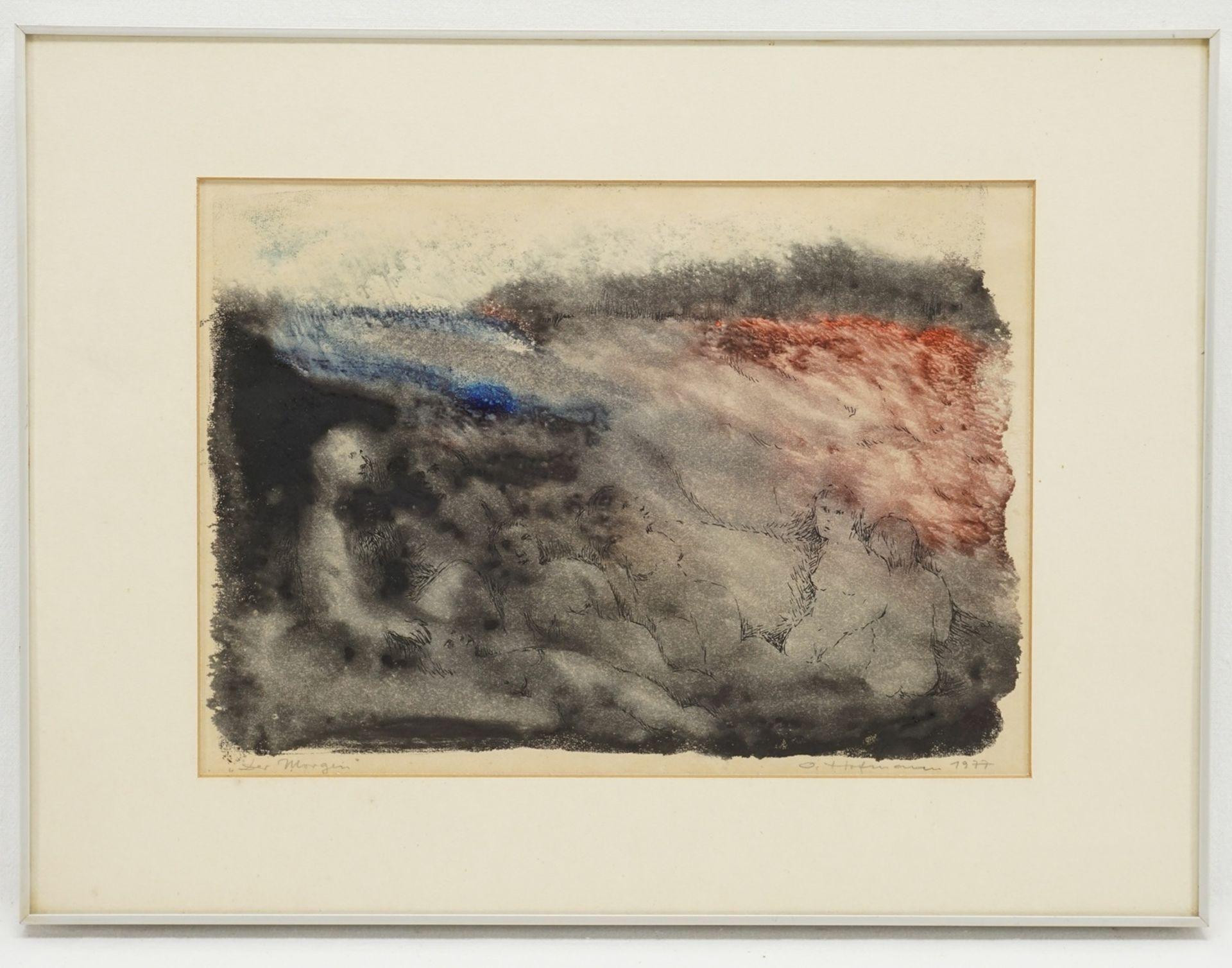 """O. Hofmann, """"Der Morgen"""" - Bild 2 aus 4"""