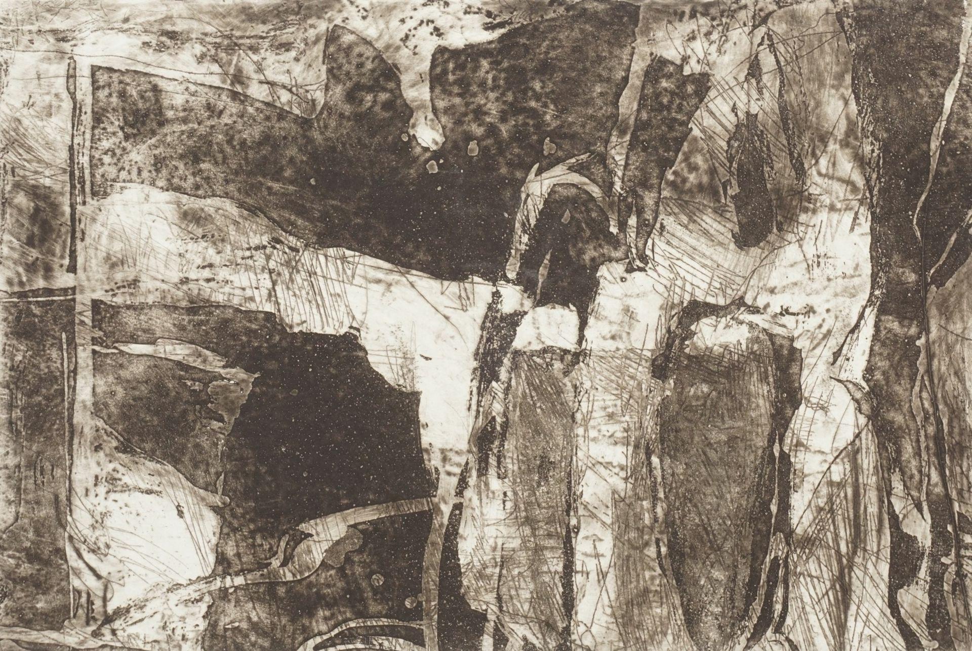 """Heinz Scharr, """"Nächtlicher Wald"""""""