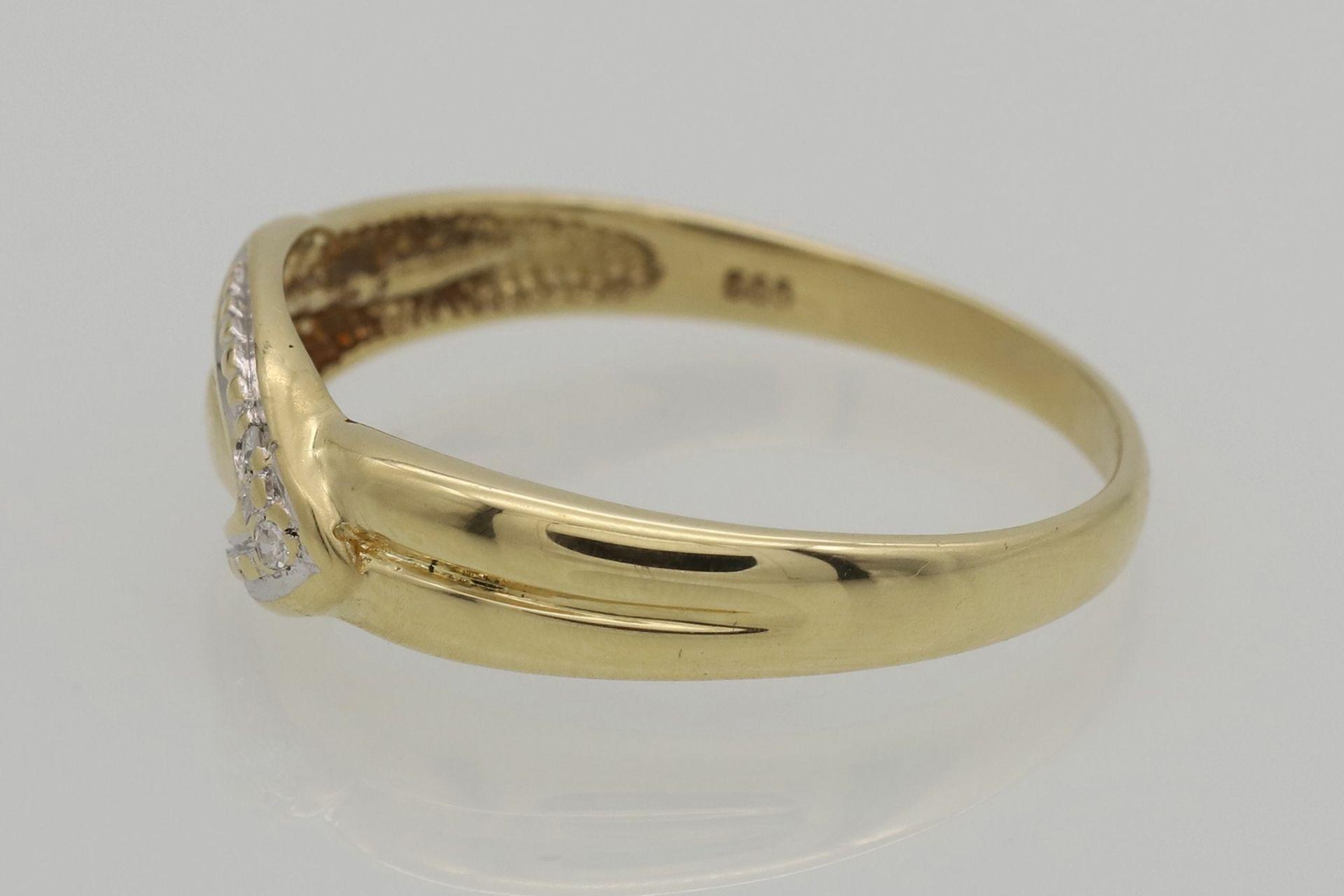 Diamant-Ring - Bild 3 aus 4
