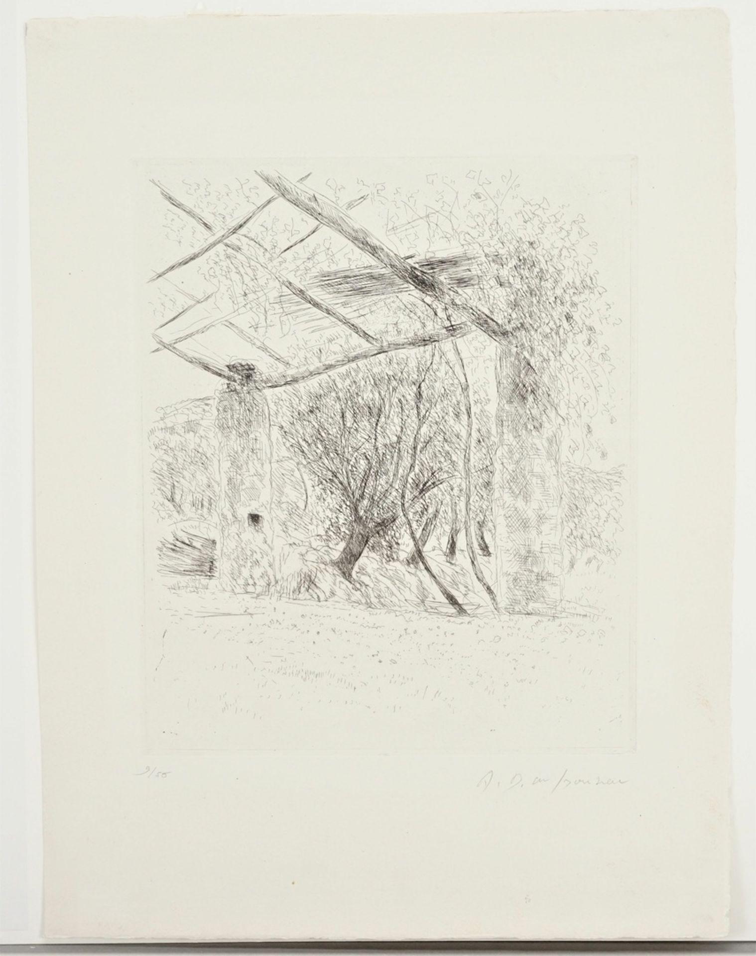 André Dunoyer De Segonzac, Gartenecke - Bild 3 aus 4