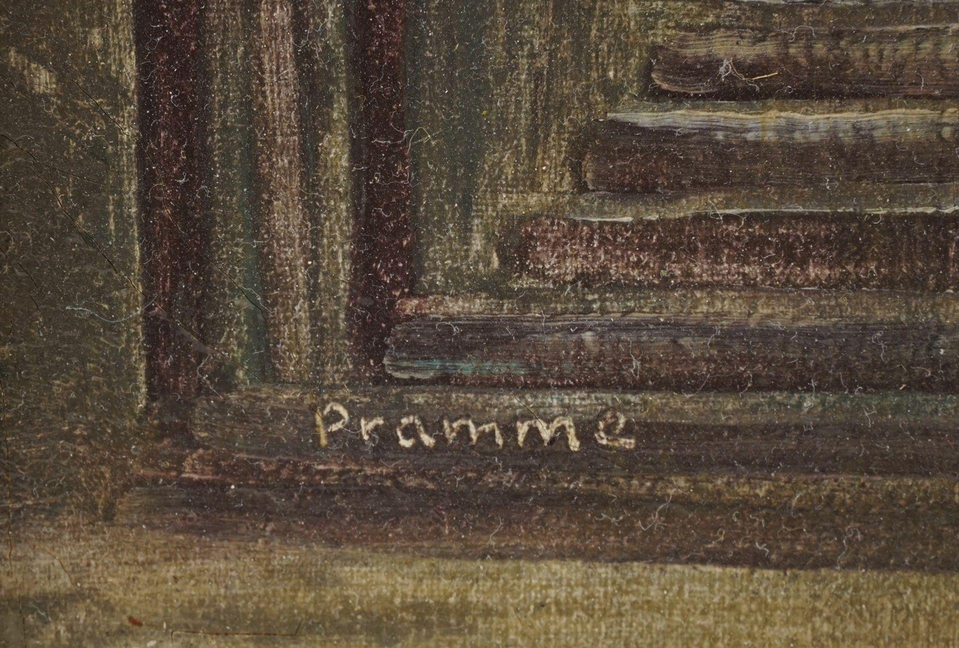 """Wilhelm Pramme, """"Das Quedlinburger Rathaus"""" - Bild 4 aus 4"""