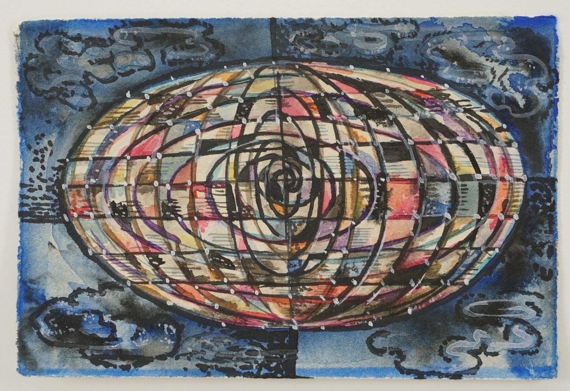Hubert Schöllgen, Elliptischer Globus - Bild 2 aus 2