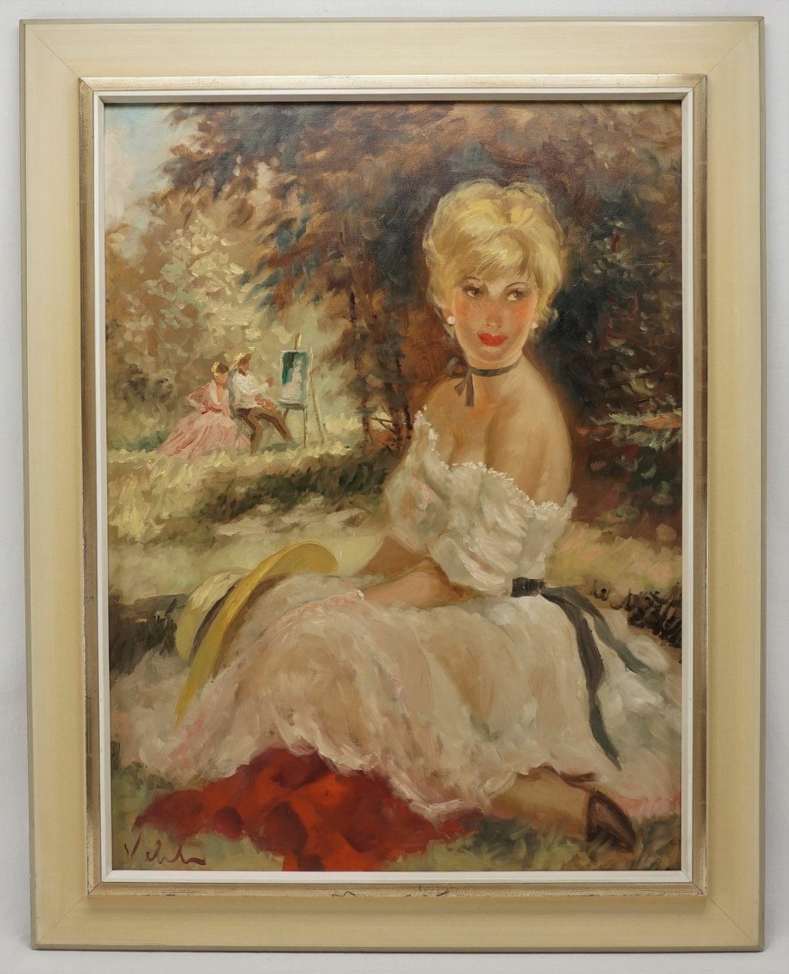 Viehl ( ), Maler und Modell (Hommage à Renoir) - Bild 2 aus 4