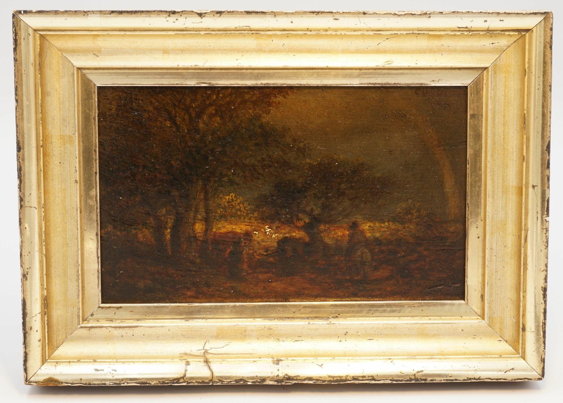 Jean-Baptiste Camille Corot, Kleine Landschaft mit Regenbogen - Bild 2 aus 4