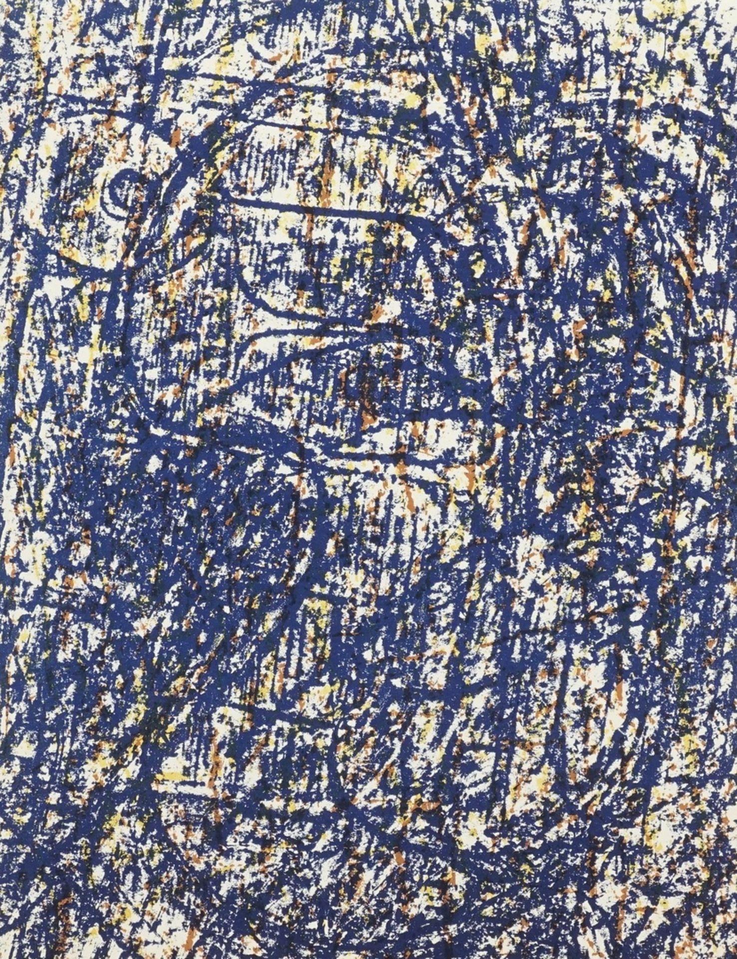 "Max Ernst, ""La forêt bleue"" (Der blaue Wald)"