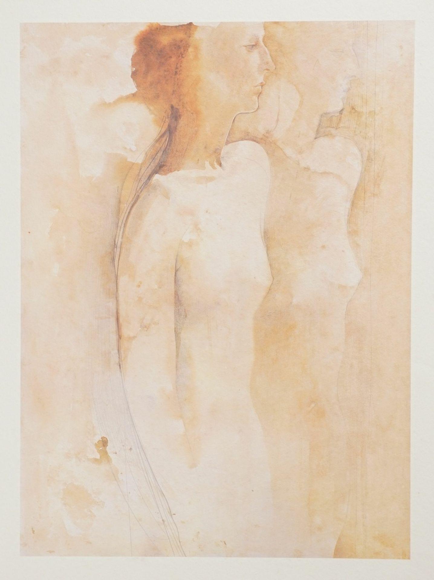 """August Ohm, """"Drei weibliche Halbakte"""" - Bild 2 aus 5"""