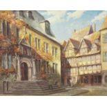"""Wilhelm Pramme, """"Das Quedlinburger Rathaus"""""""