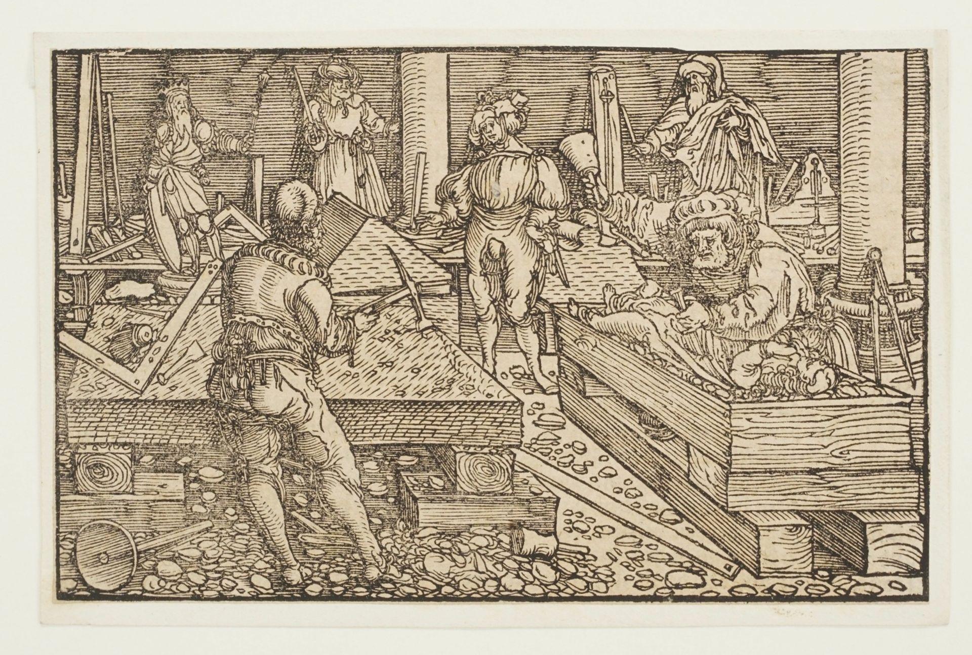 Umkreis Petrarcameister, Der Holzbildhauer - Bild 3 aus 3